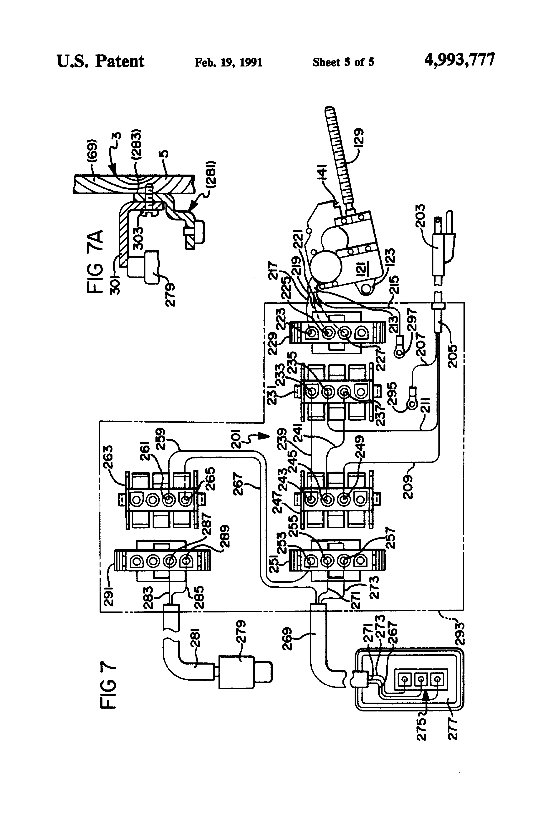 US4993777 5 reliance electric wiring diagram for lift rotary pump diagram elevator wiring diagram free at money-cpm.com