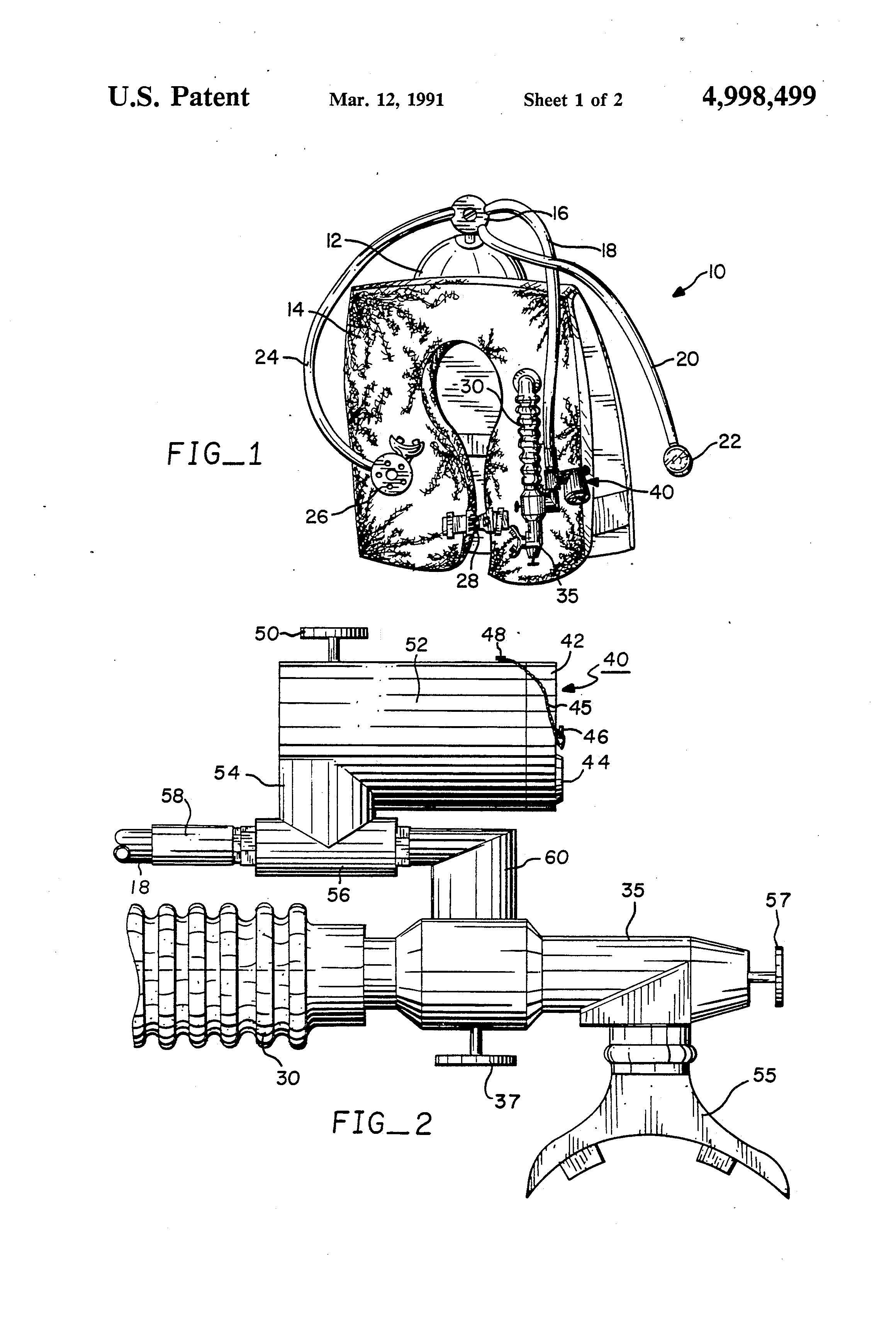 patent us4998499 - underwater pneumatic horn