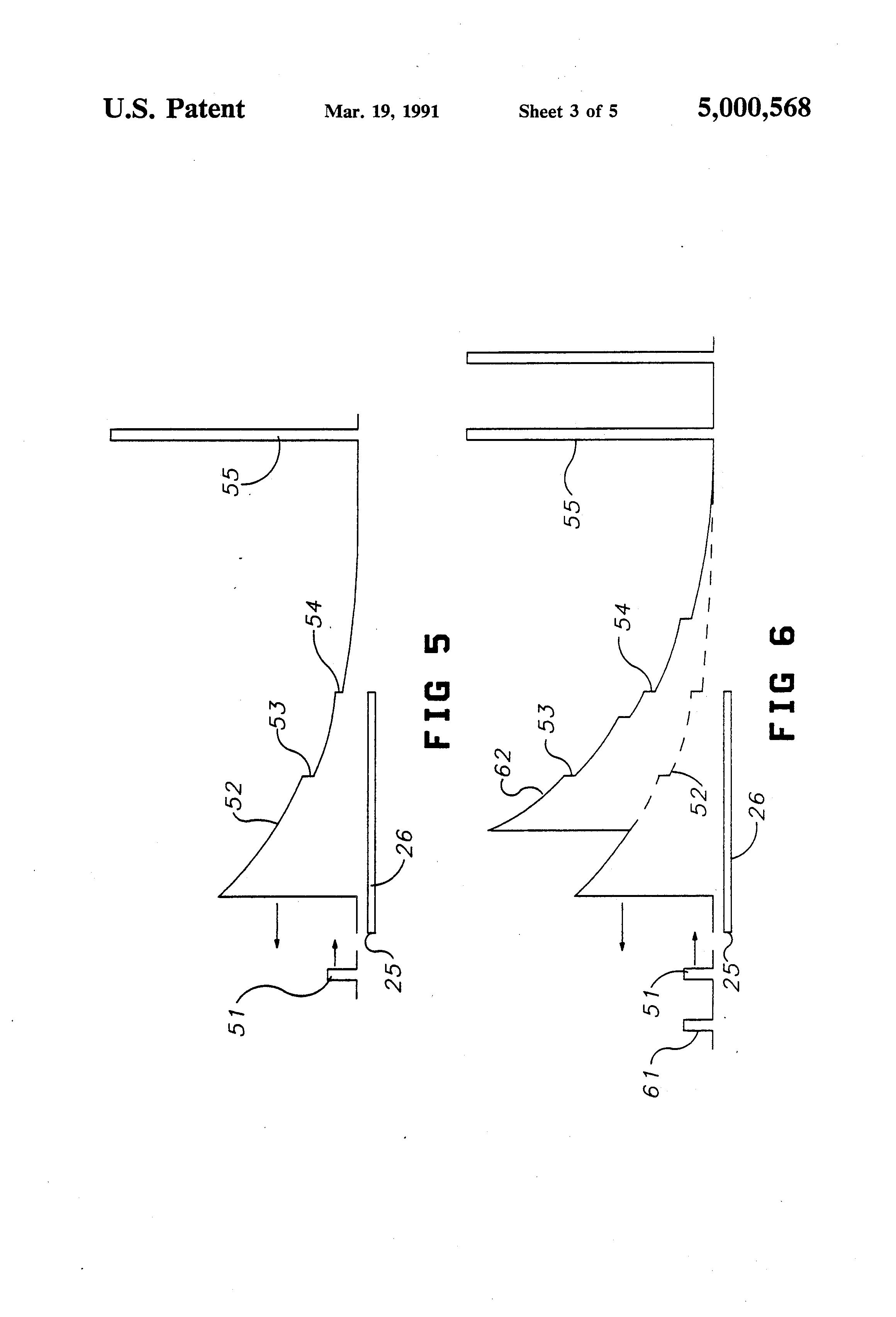 patent us5000568