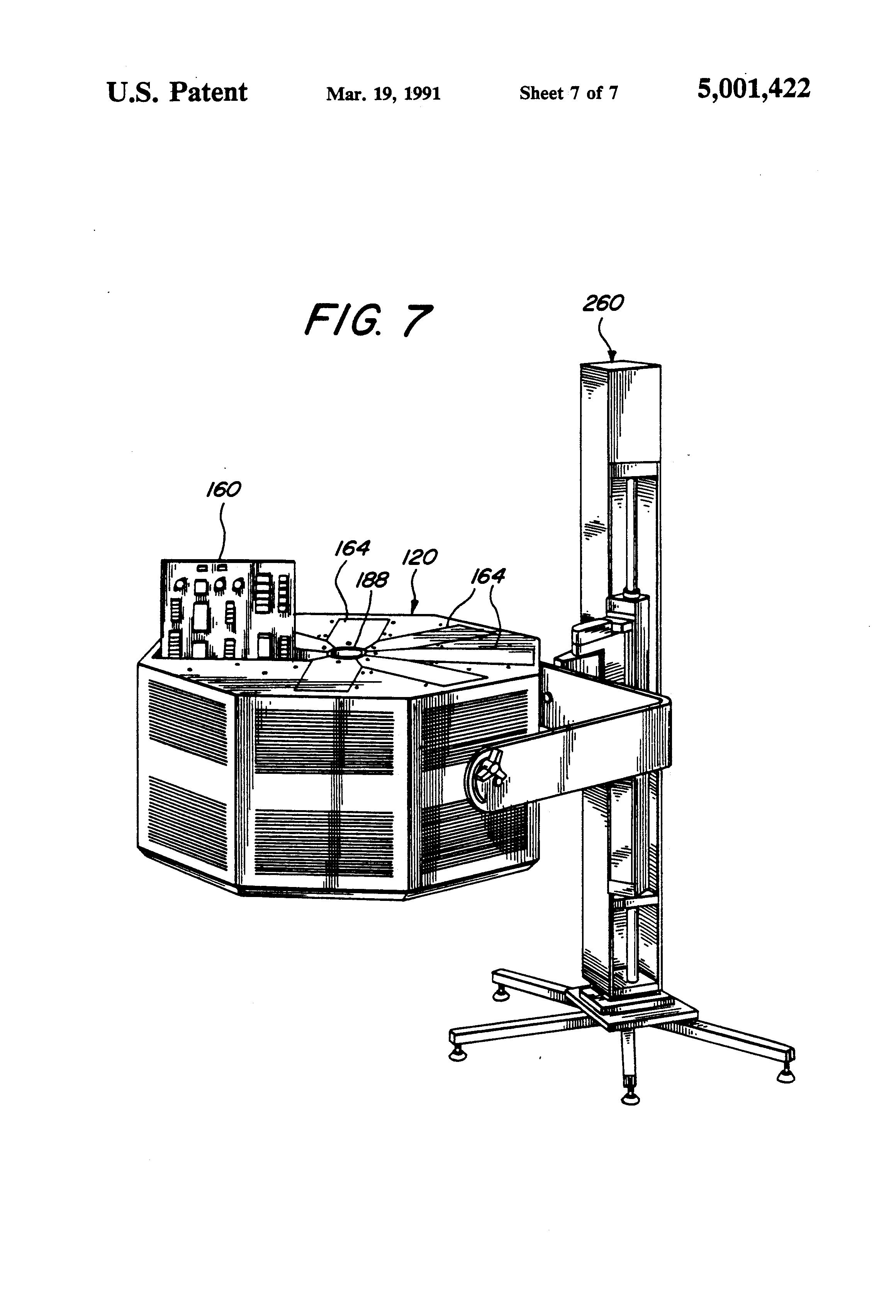 patent us5001422 - vlsi tester backplane