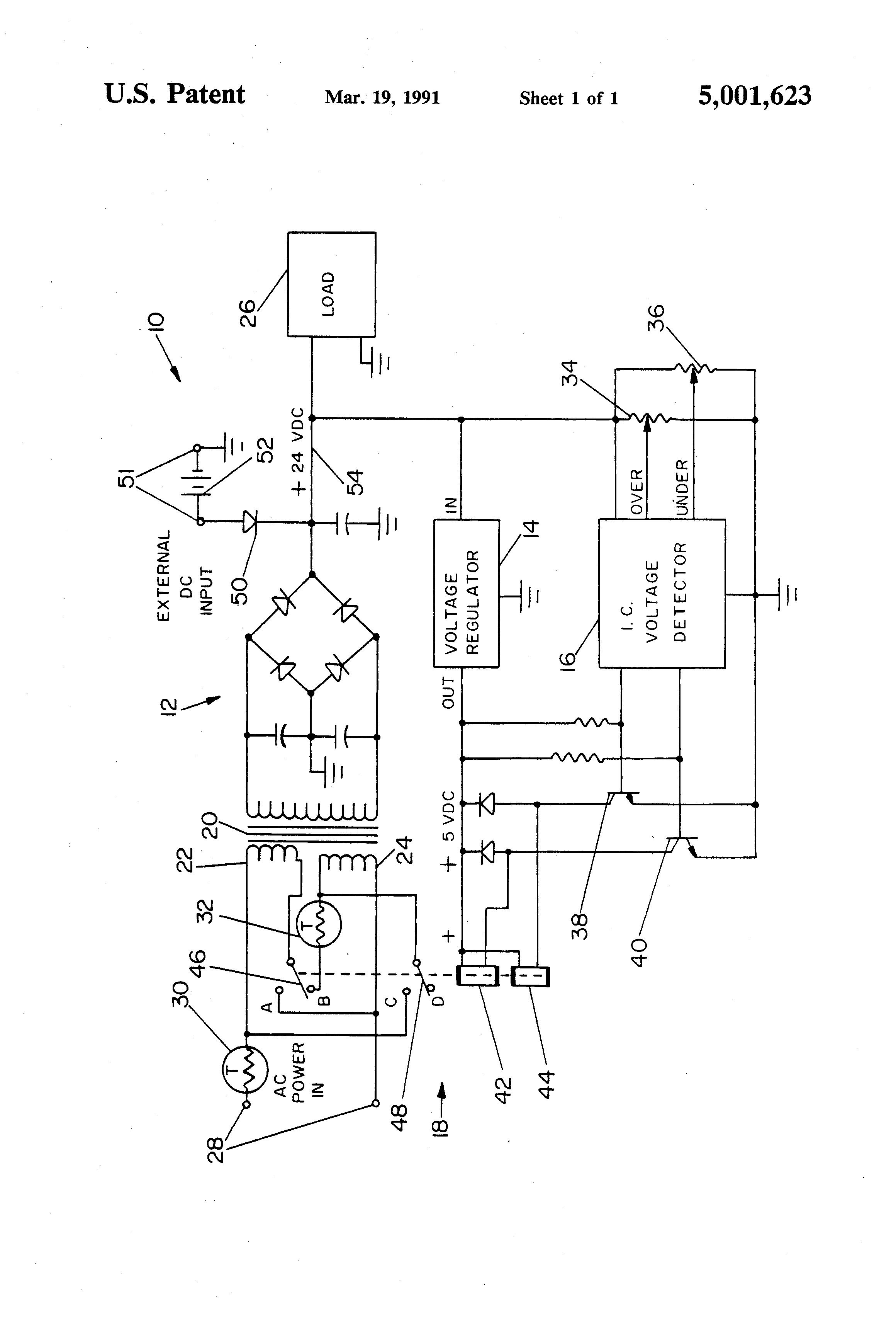 patent us5001623