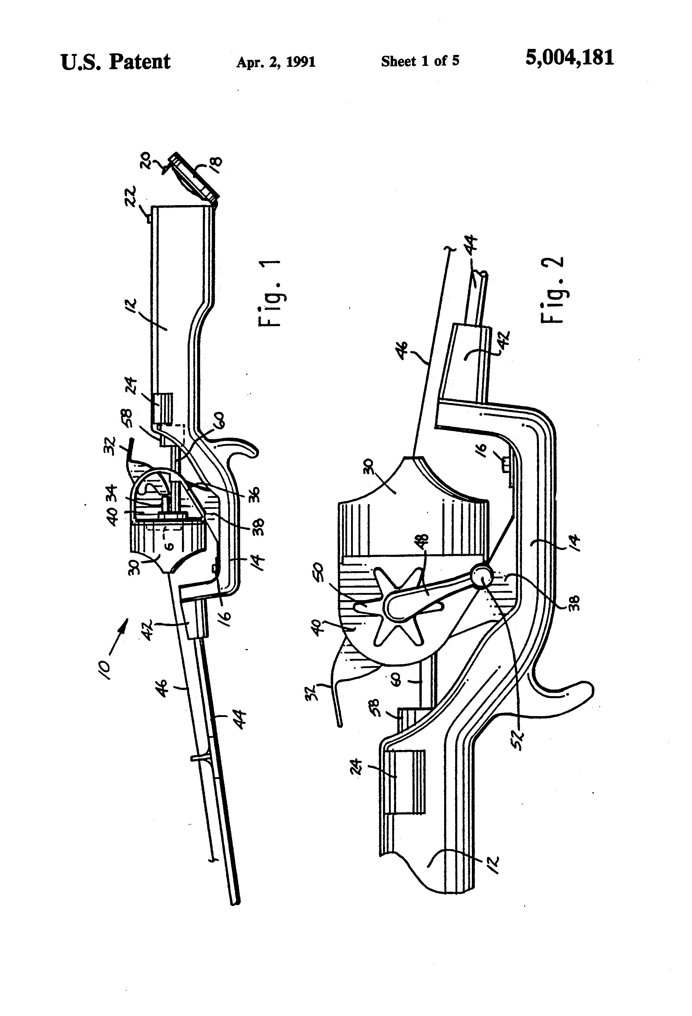 patent us5004181 - cordless electric fishing reel