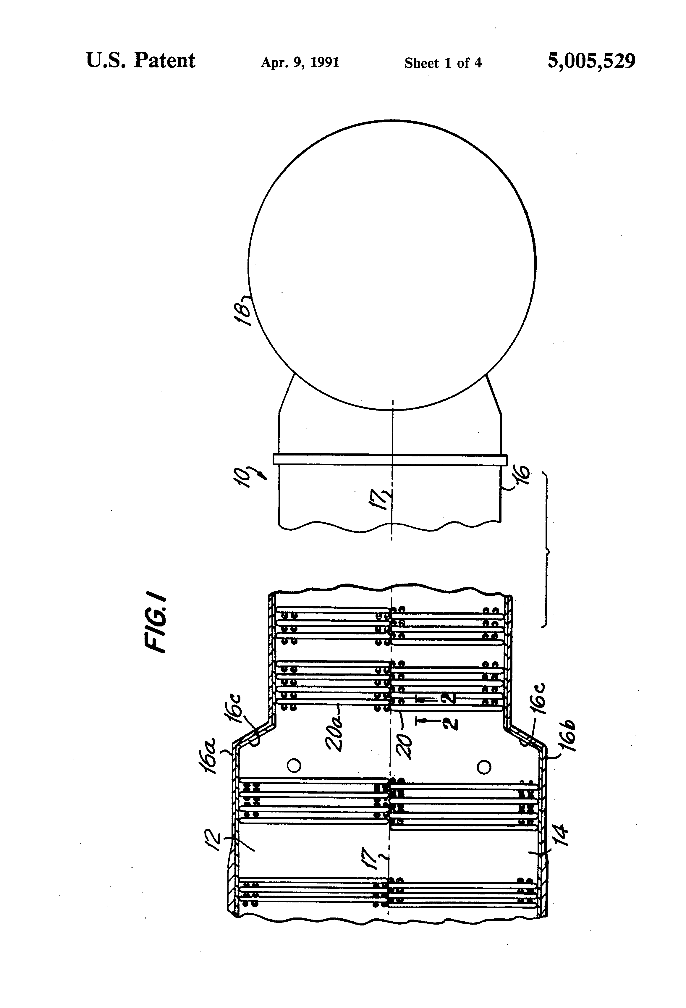 Patent US Modular heat recovery steam generator having