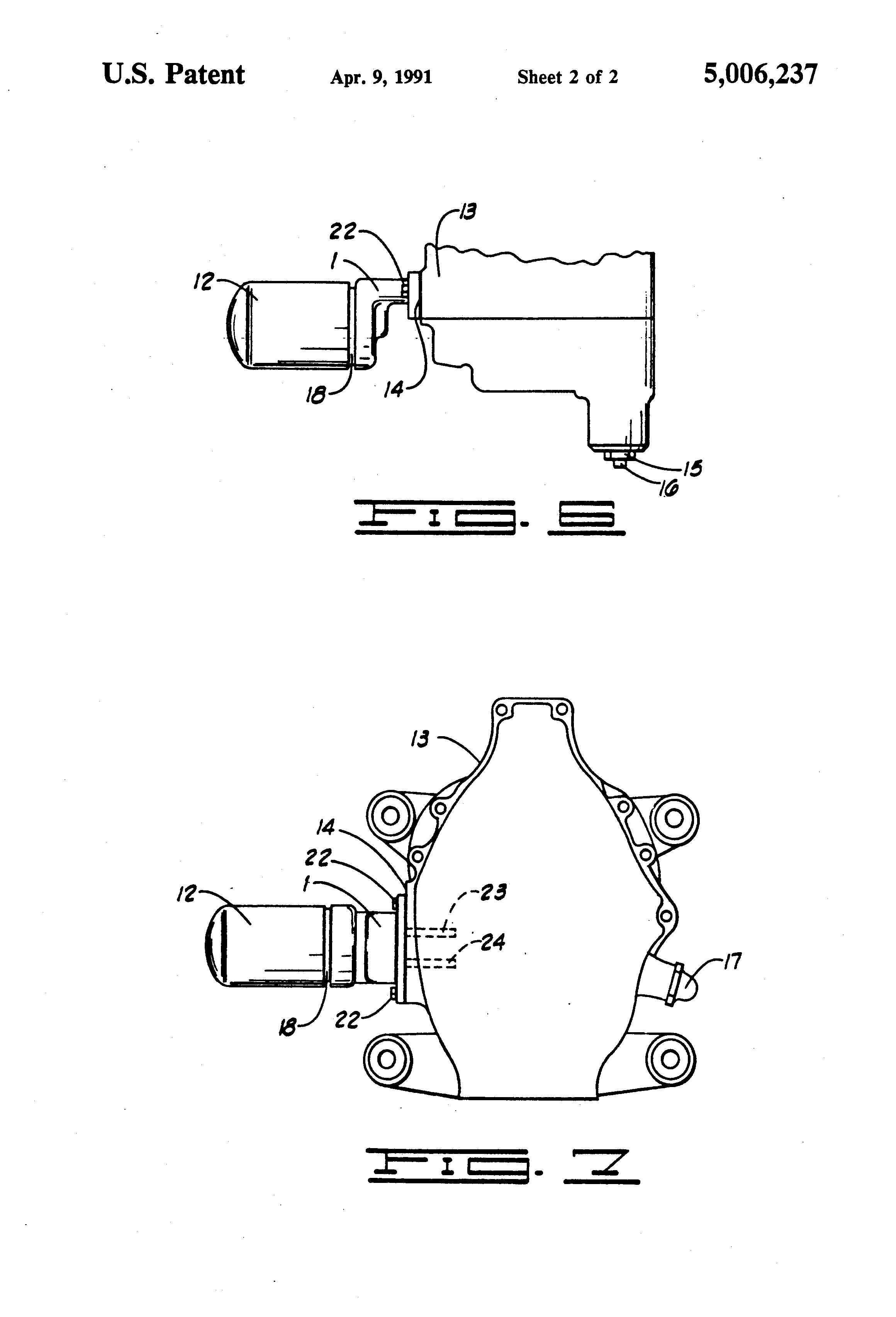 patent us5006237