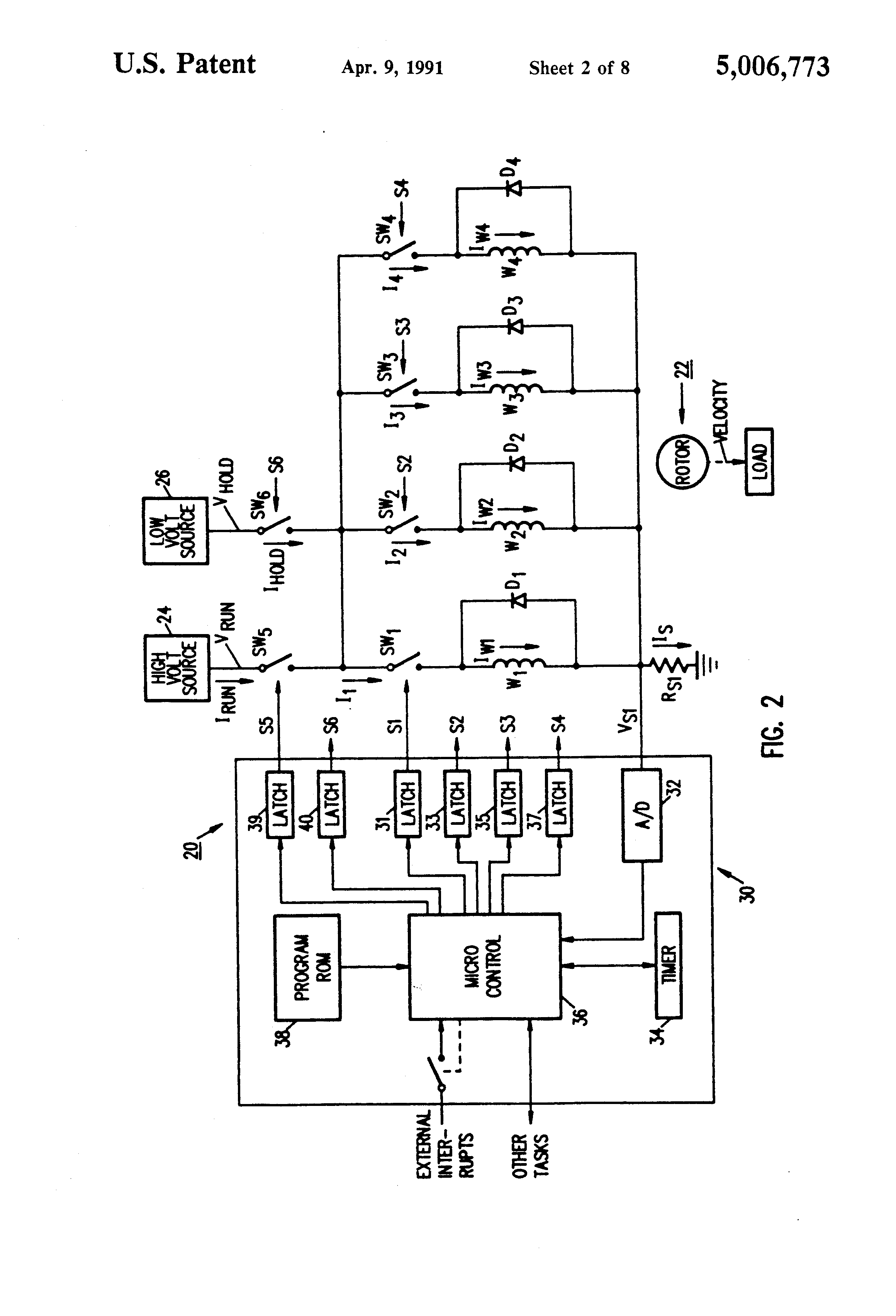 US5006773 2 patent us5006773 microcomputer control of stepper motor using  at gsmportal.co