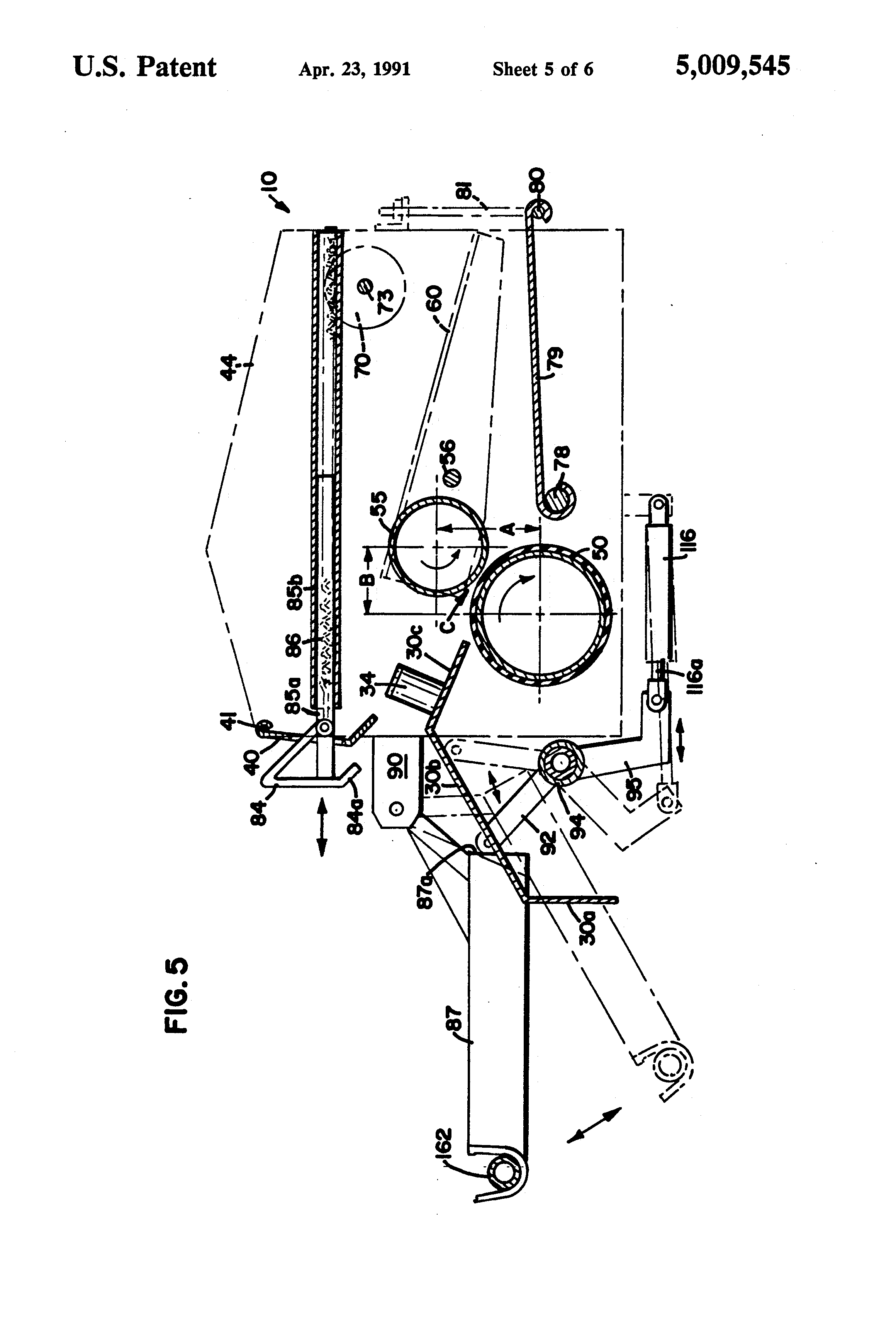 patent us5009545 - wire mesh straightening method and apparatus