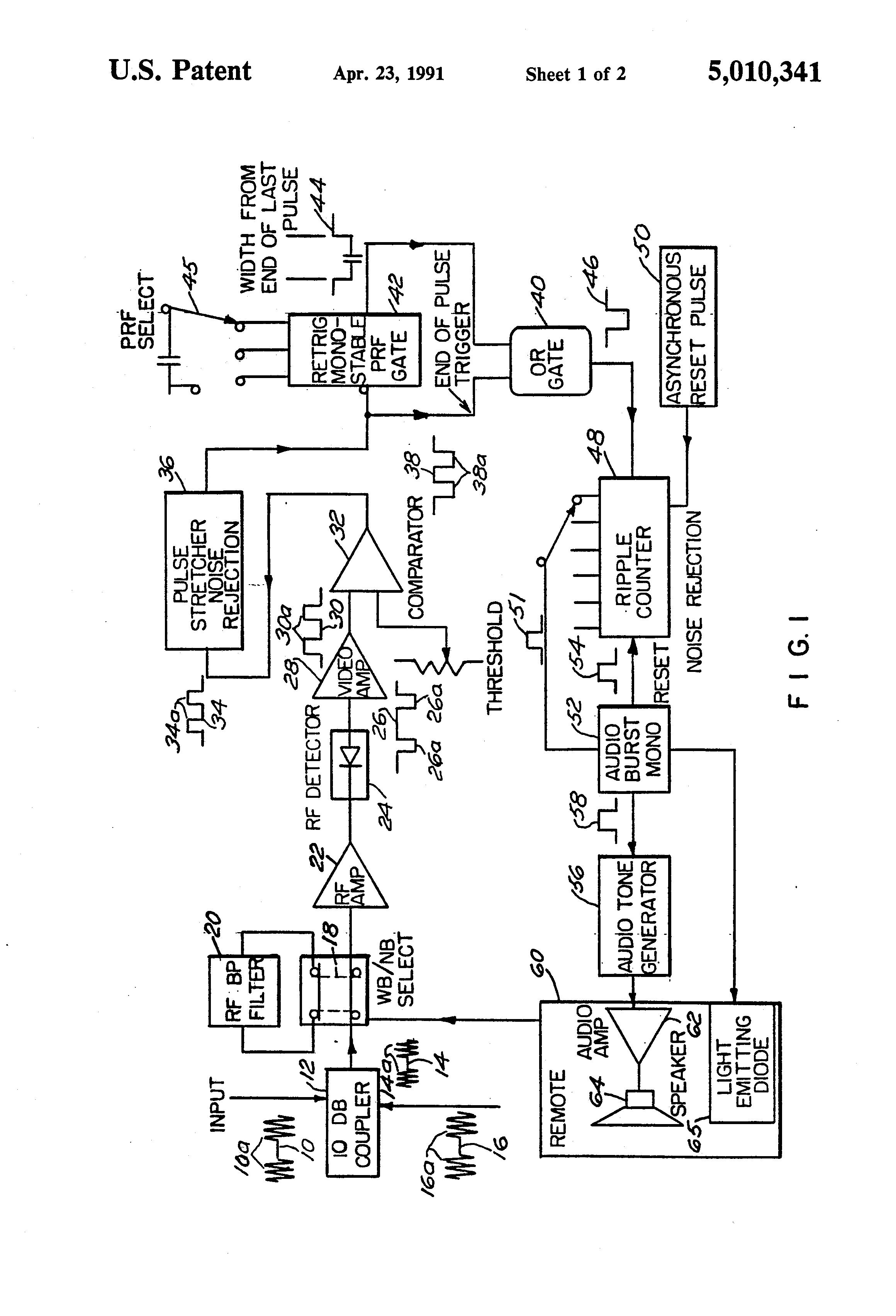 patent us5010341