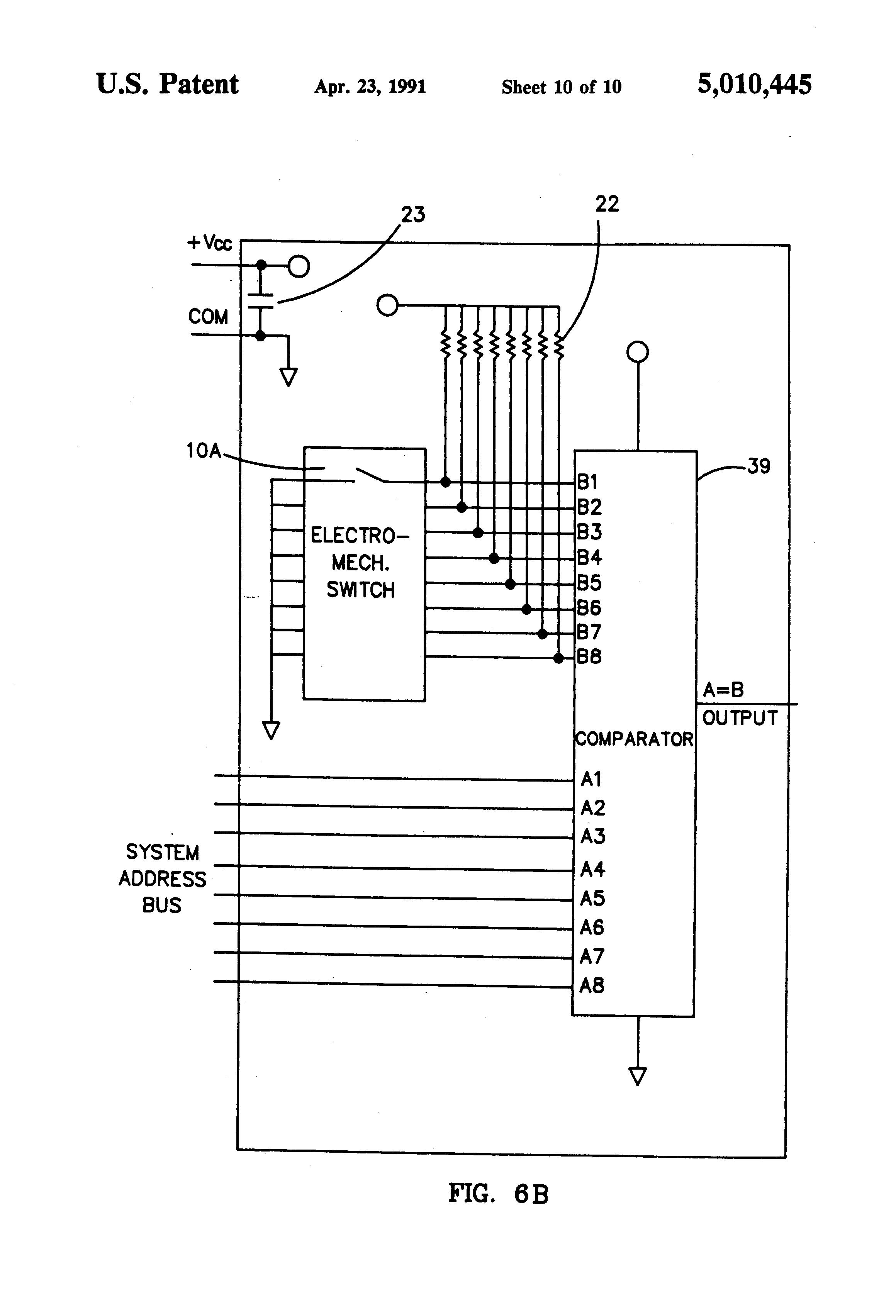patent us5010445