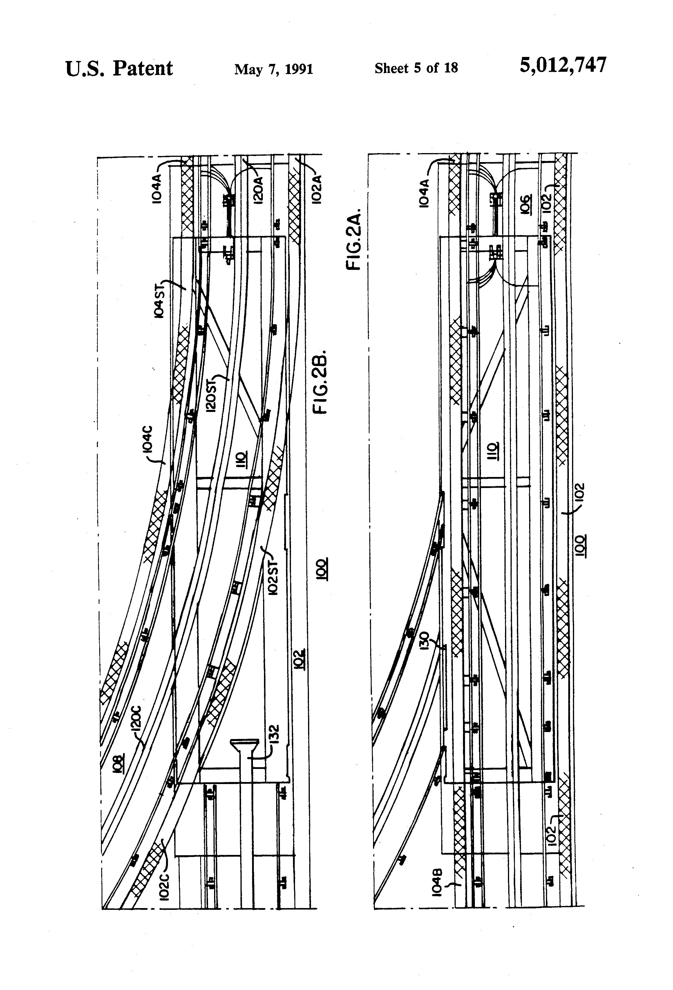 patent us5012747  or electric rail structure