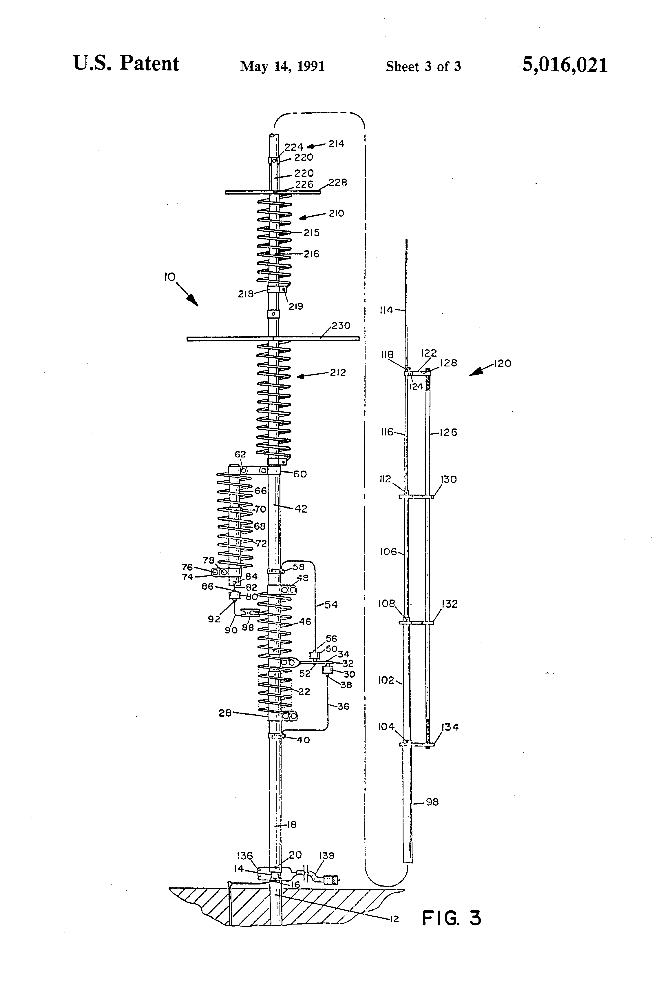 patent us5016021 - 12 and 17 meter adapter assemblies