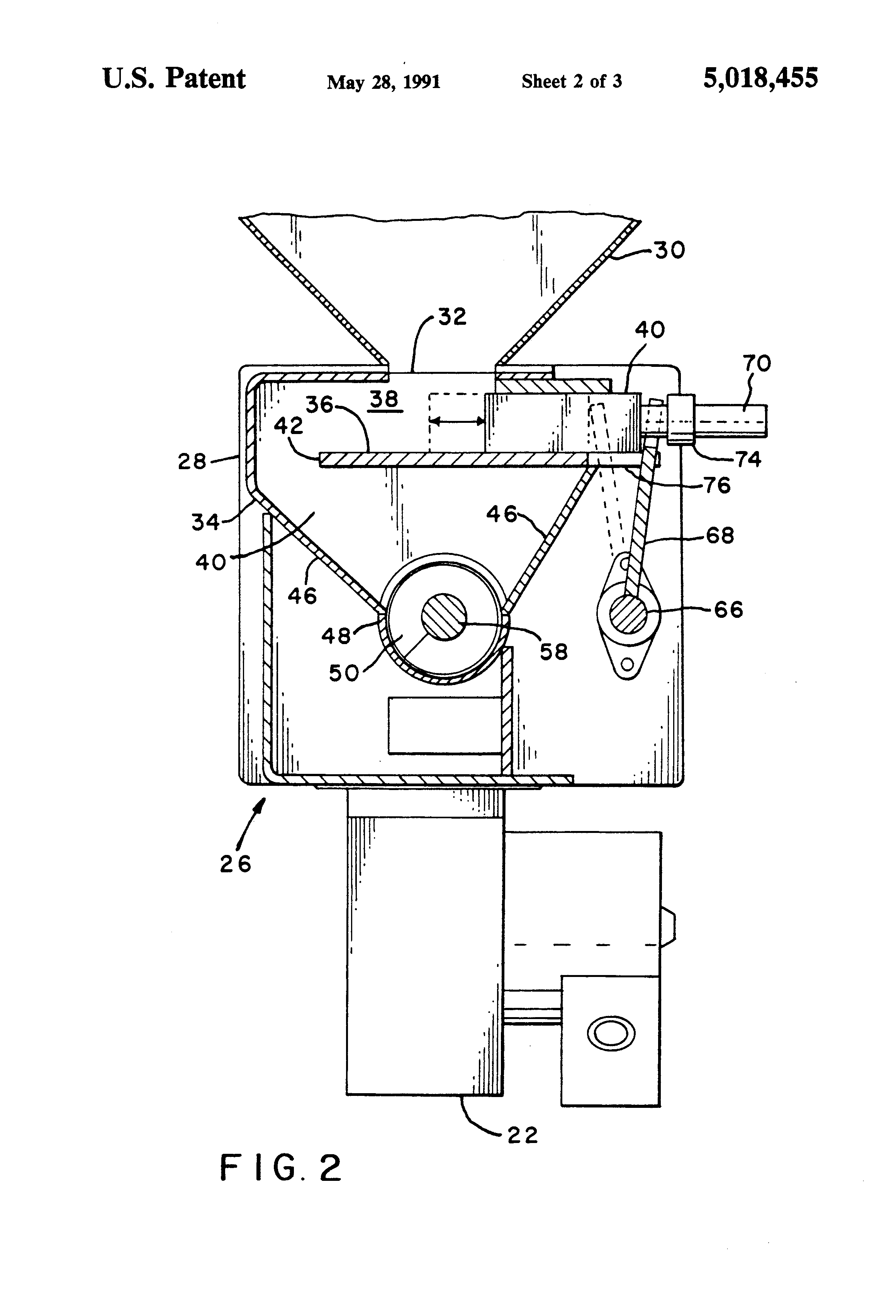 Patent US5018455 - Feed system for pellet burning stove - Google ...