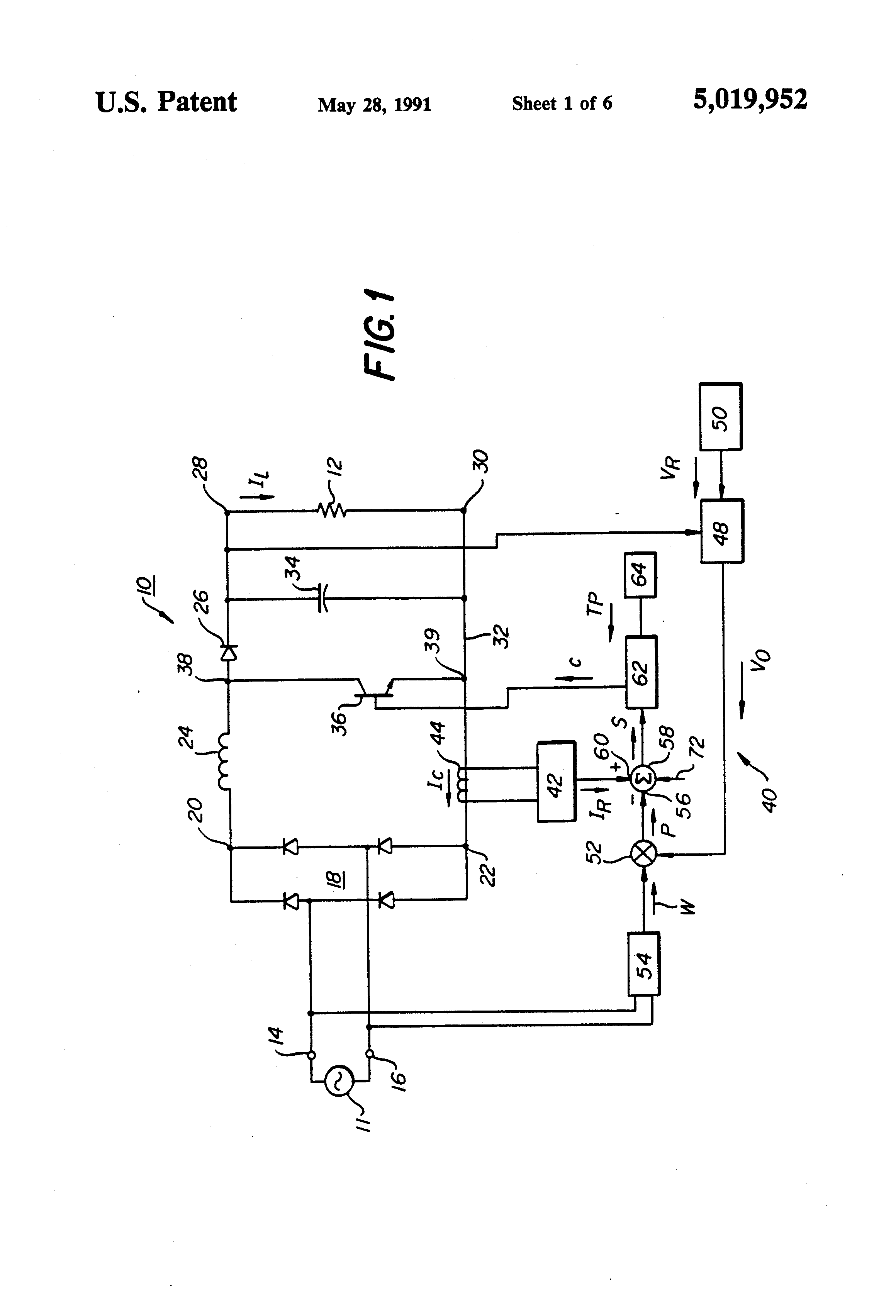 patent us5019952