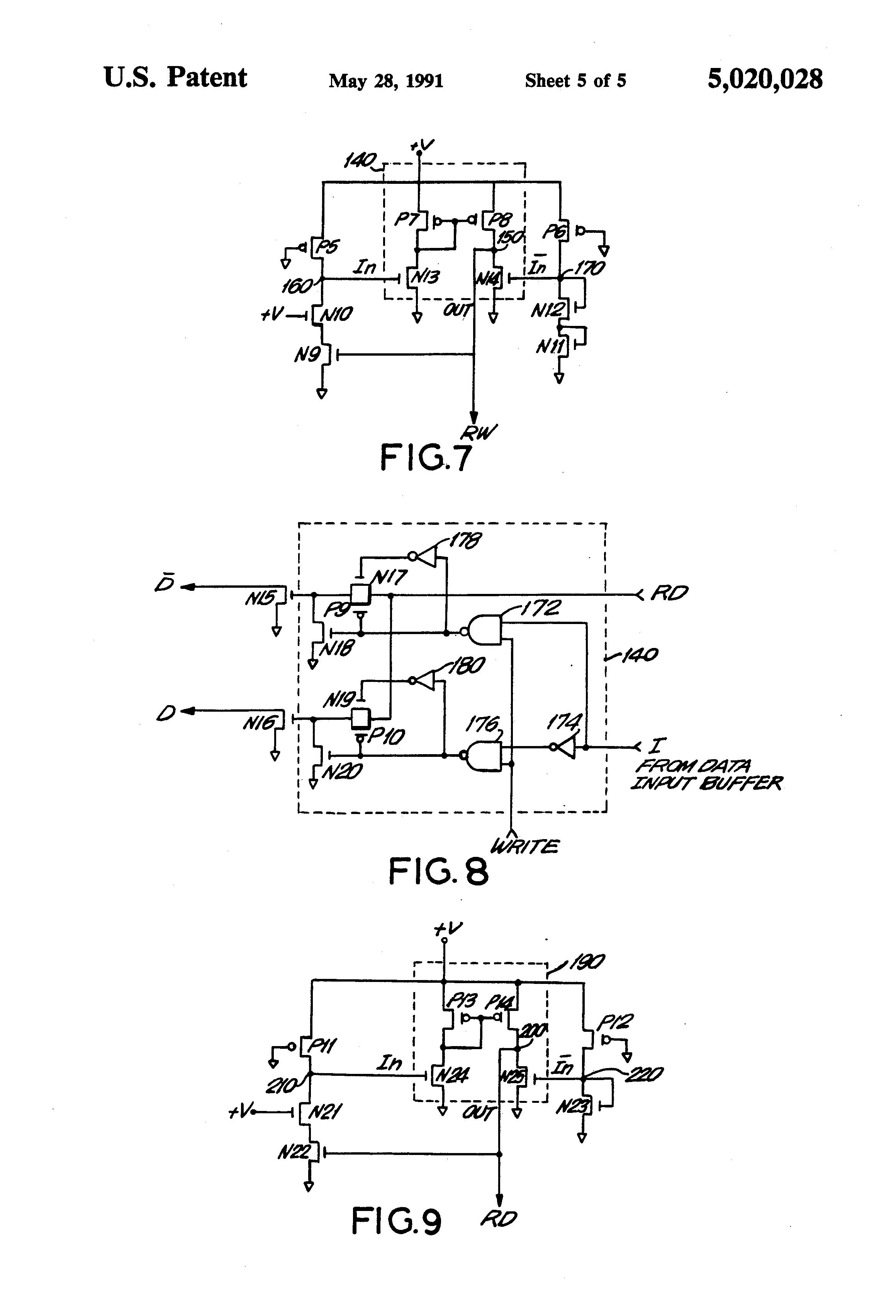 patent us5020028