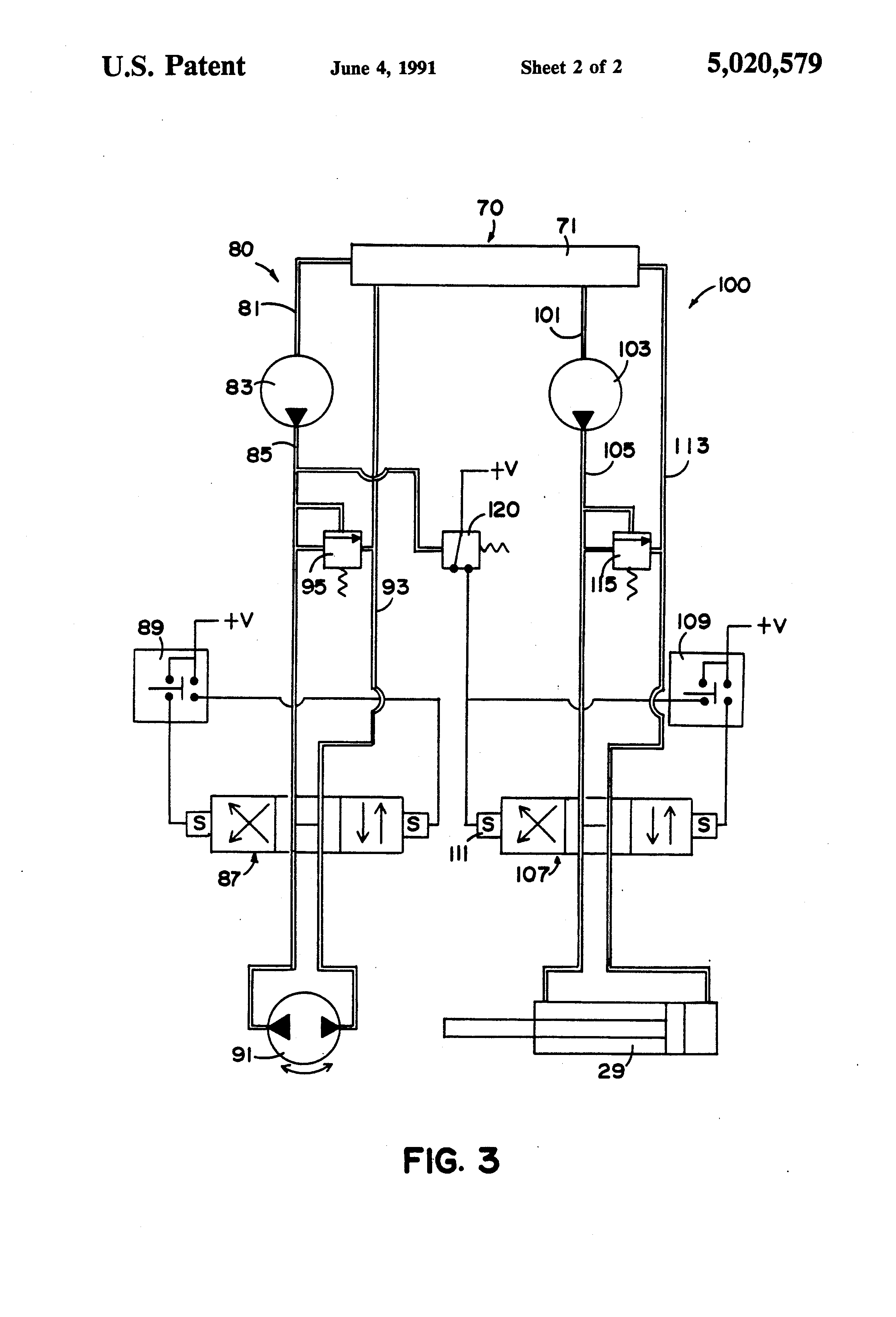 patent us5020579 - automatic infeed control
