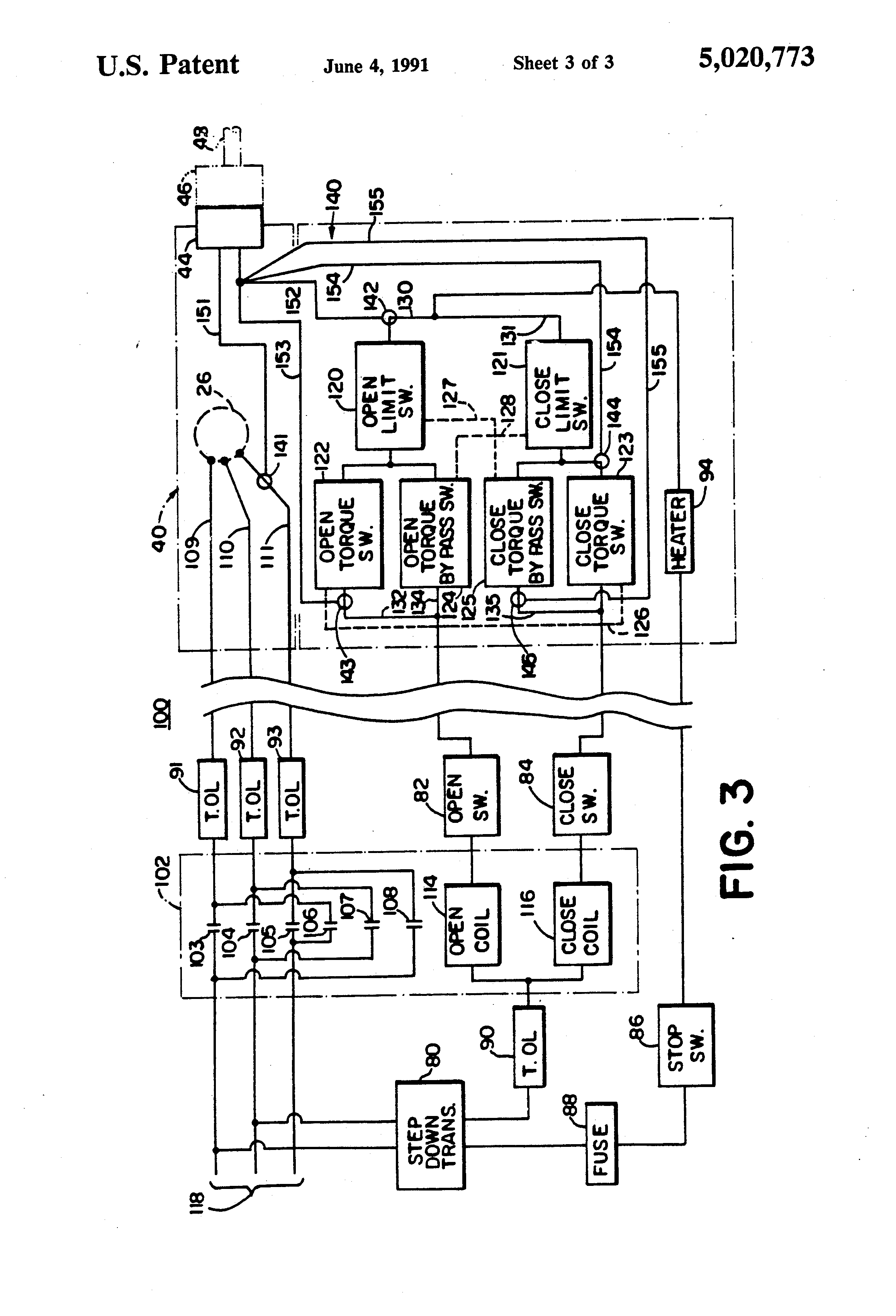 patent us5020773 actuator assembly with permanently mounted on auma valve wiring diagram