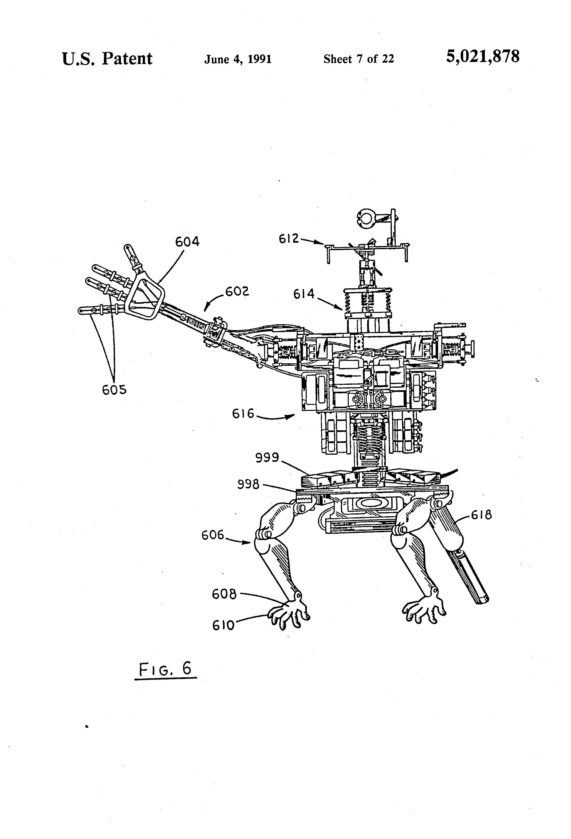 patent us5021878