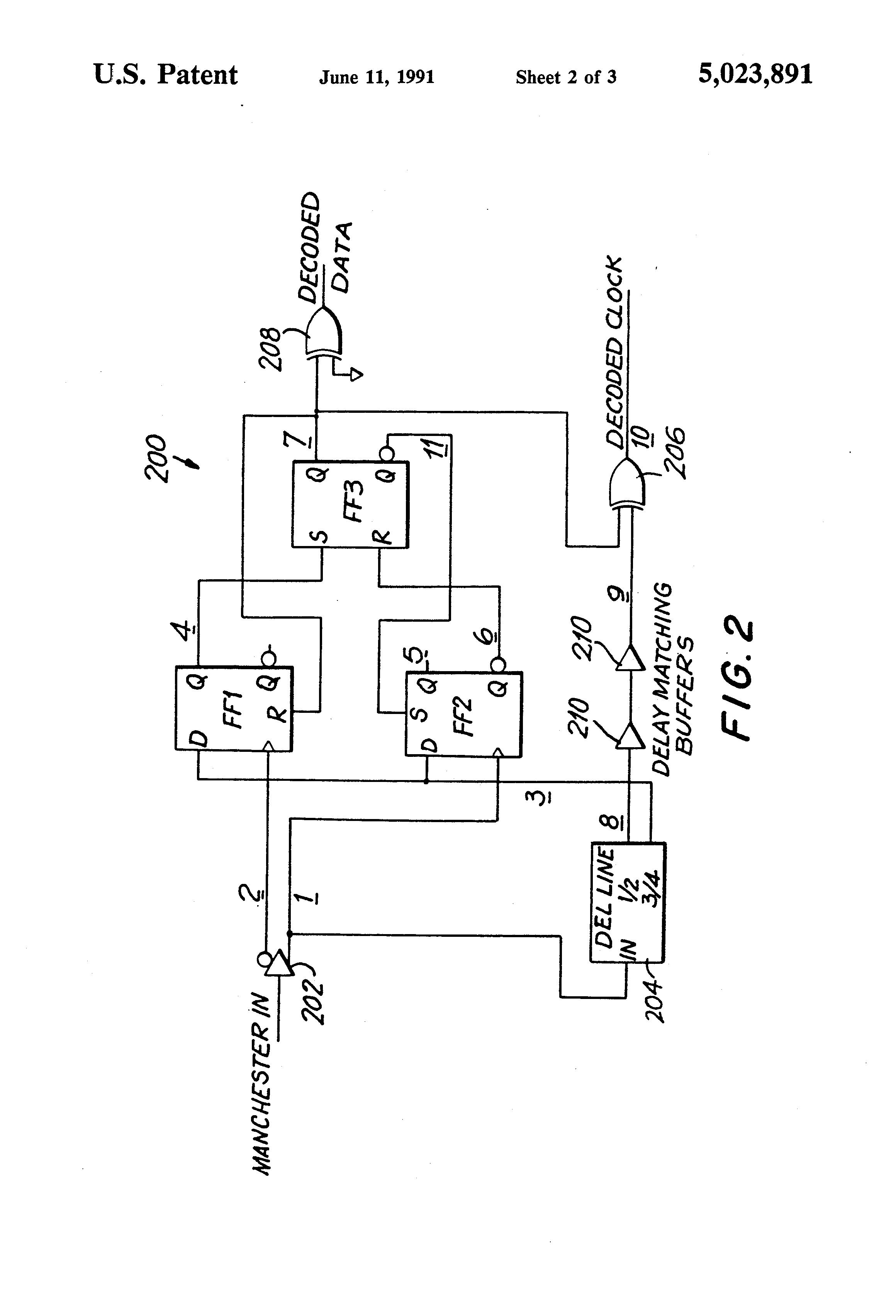 patent us5023891