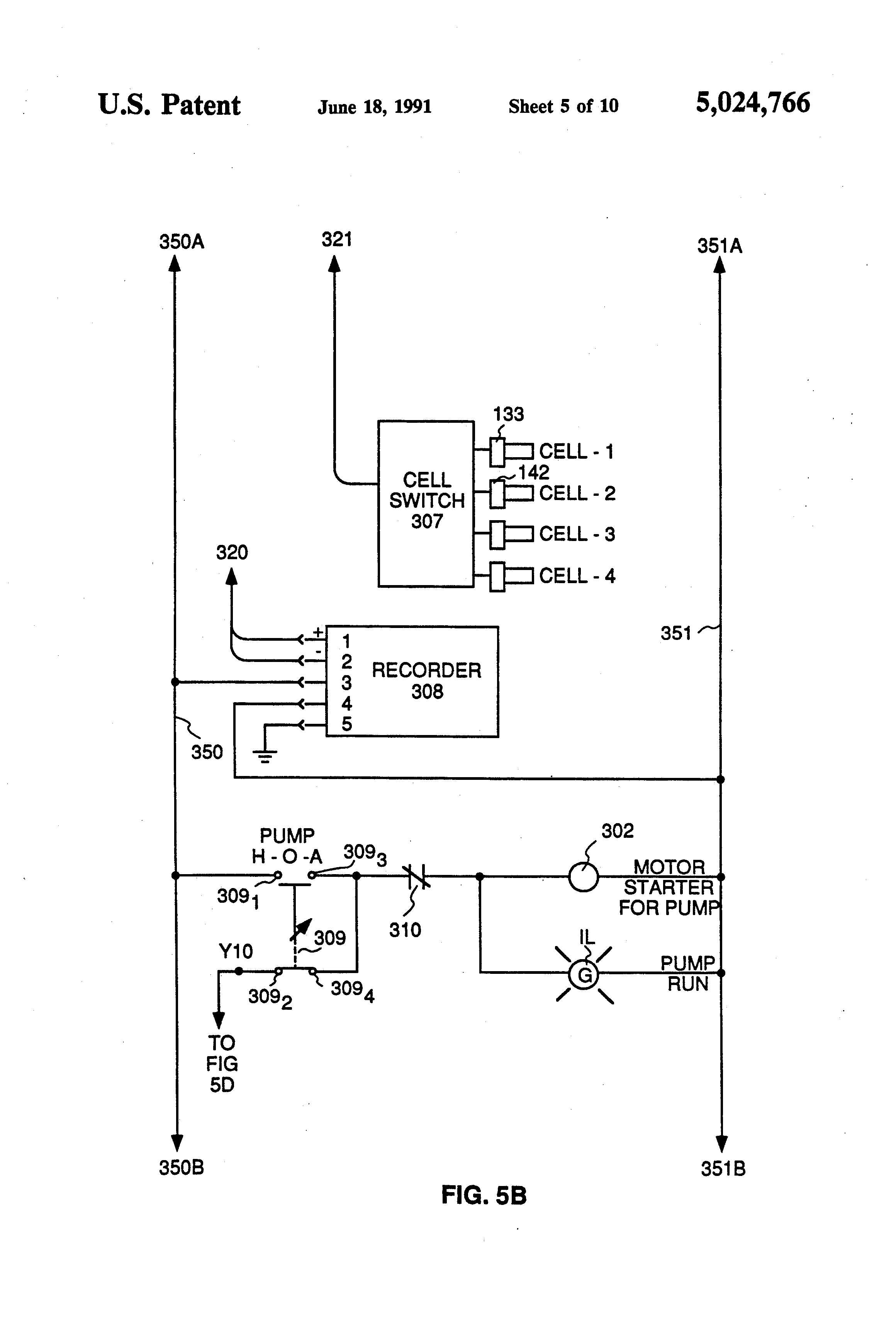 patent us5024766 point of use deionized water purification unit patent drawing