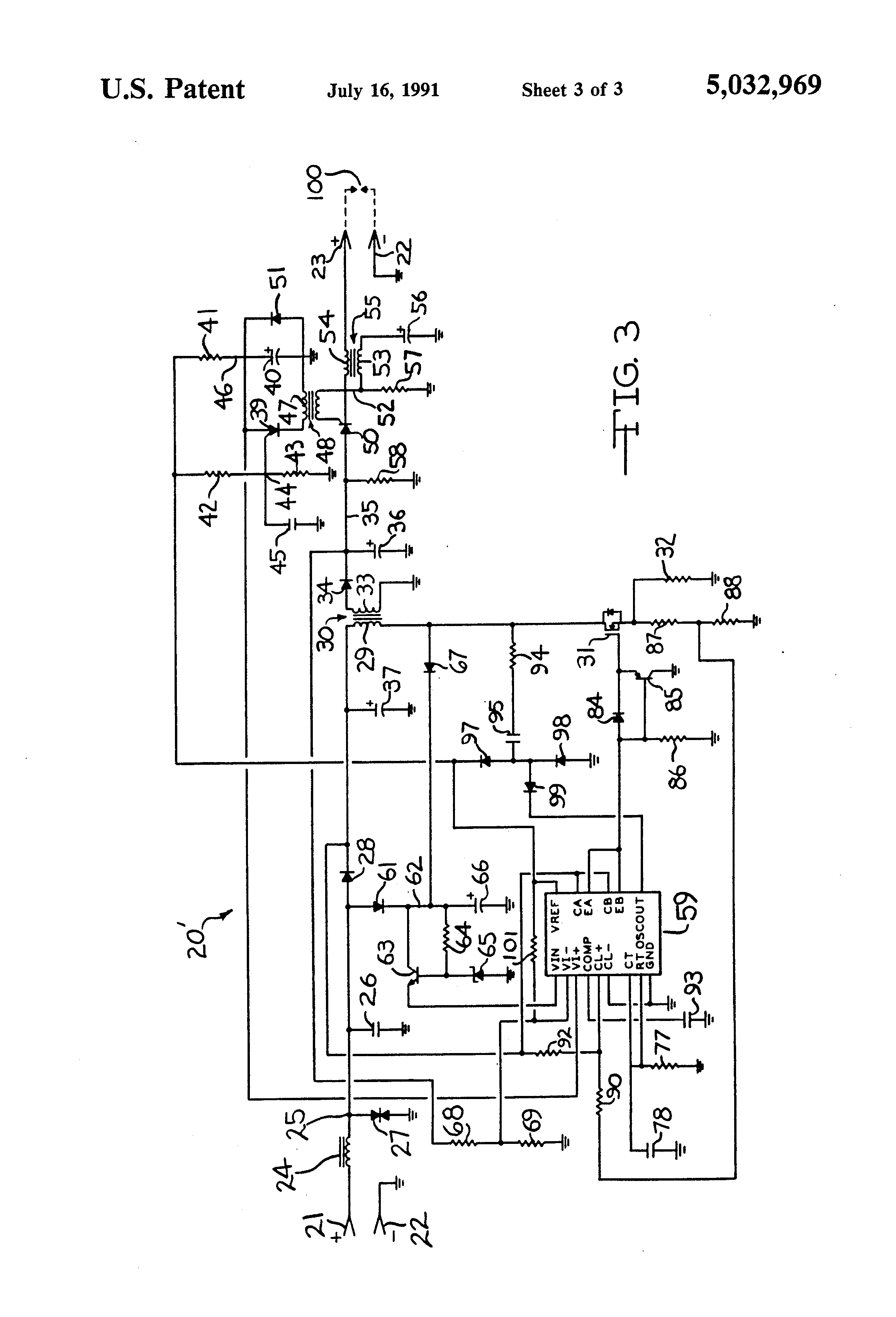 patent us5032969