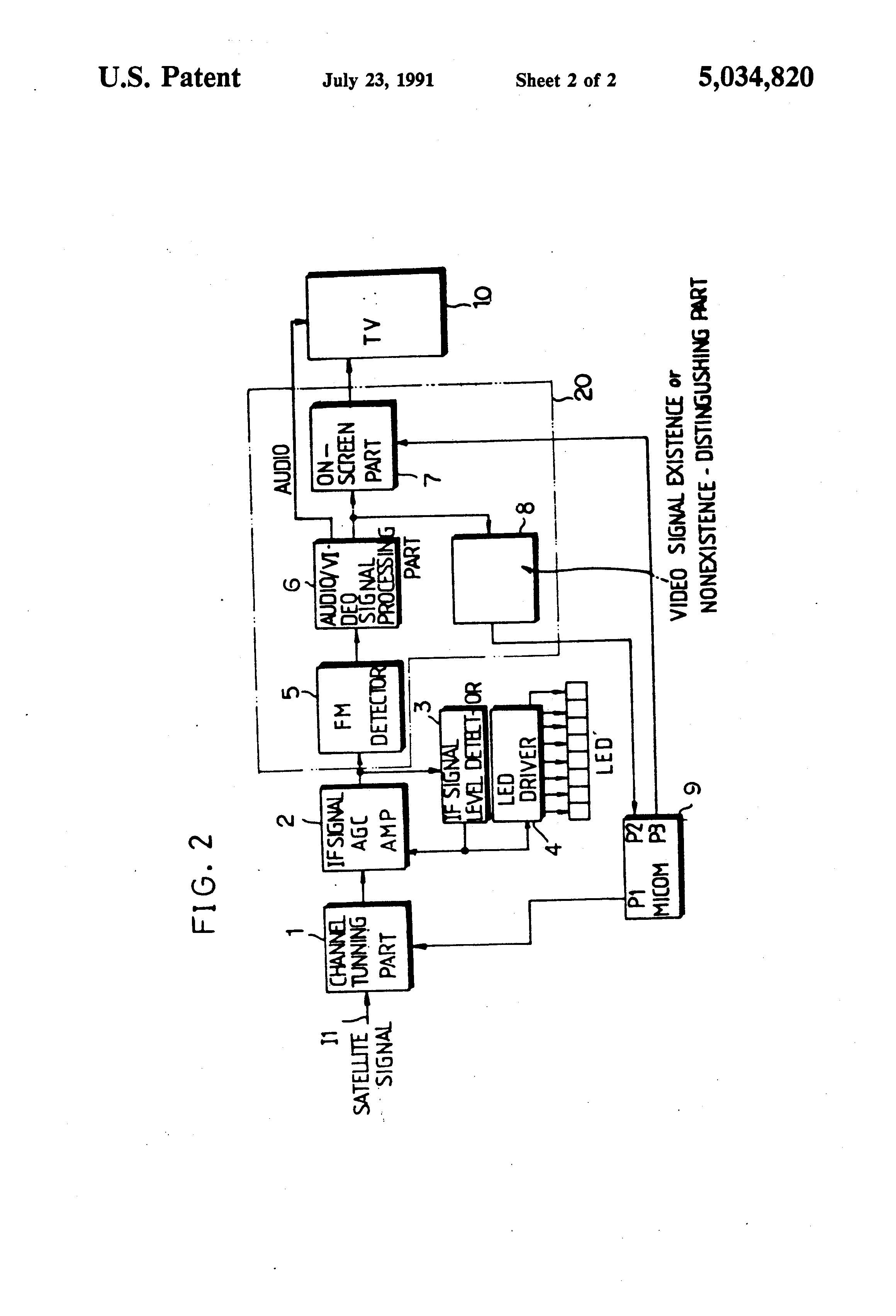 patent us5034820