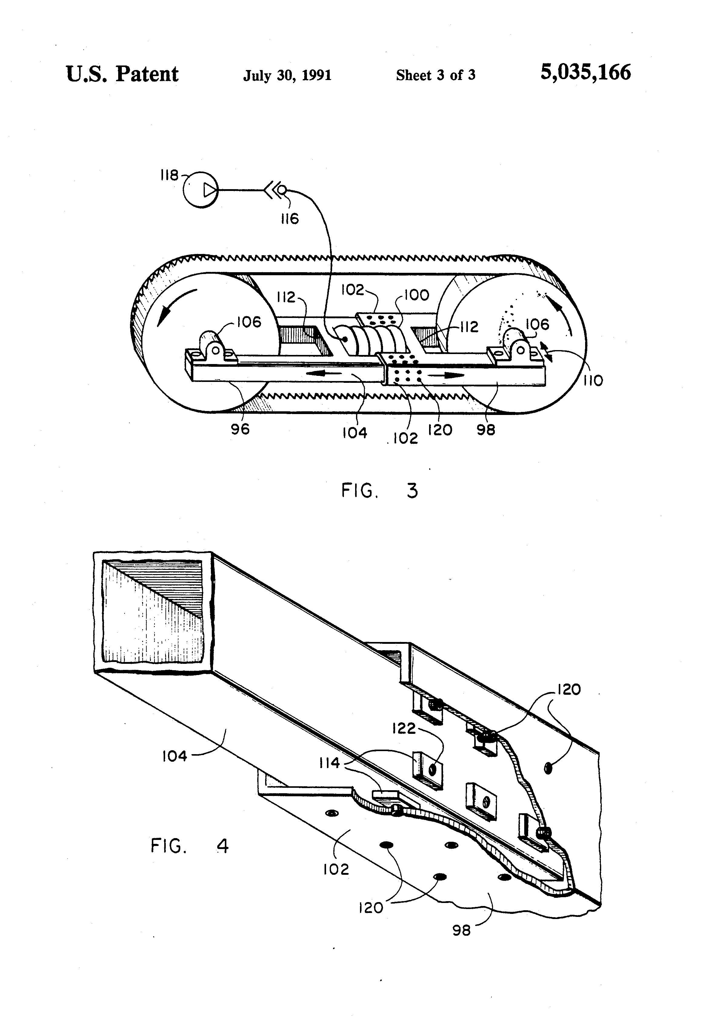 patent us5035166