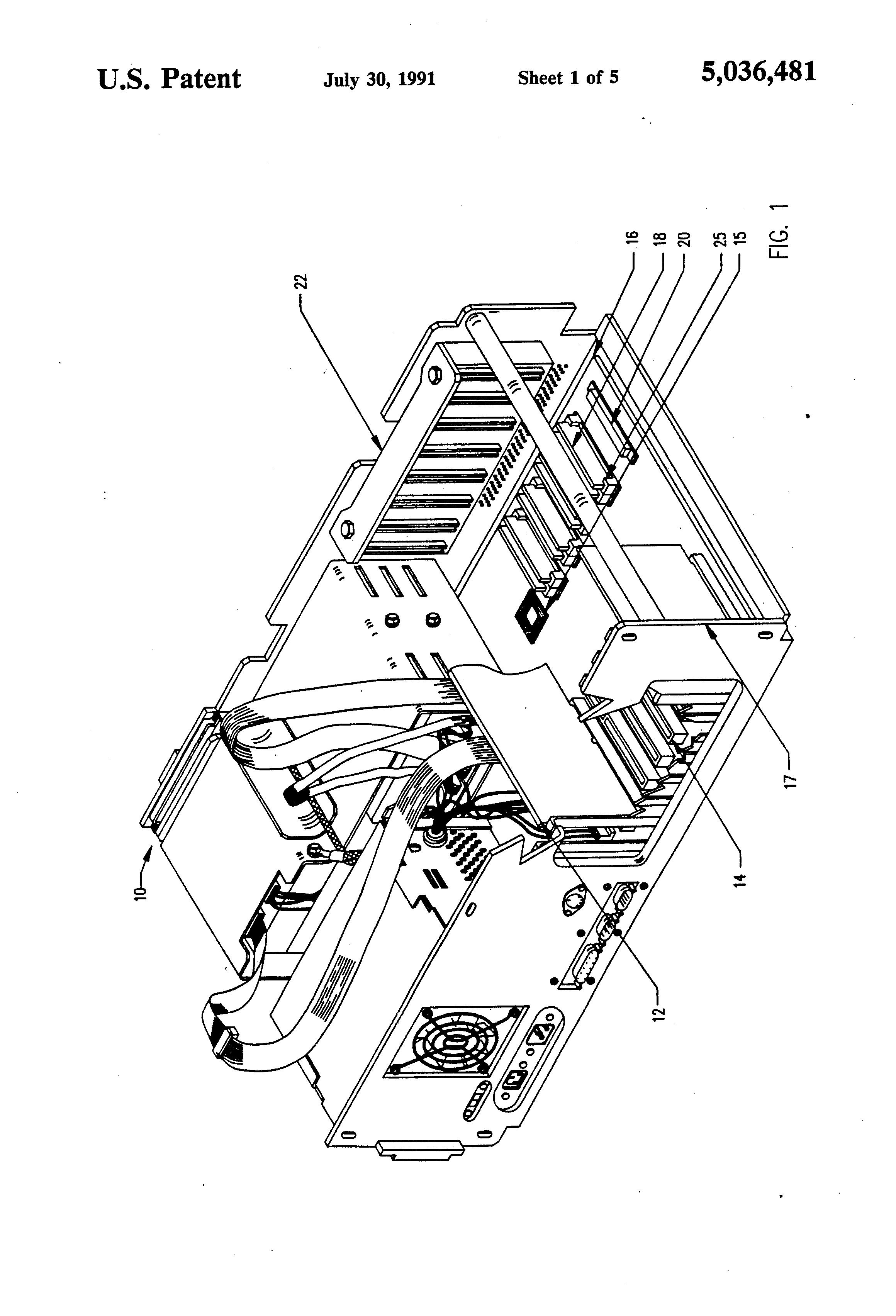 patent us5036481