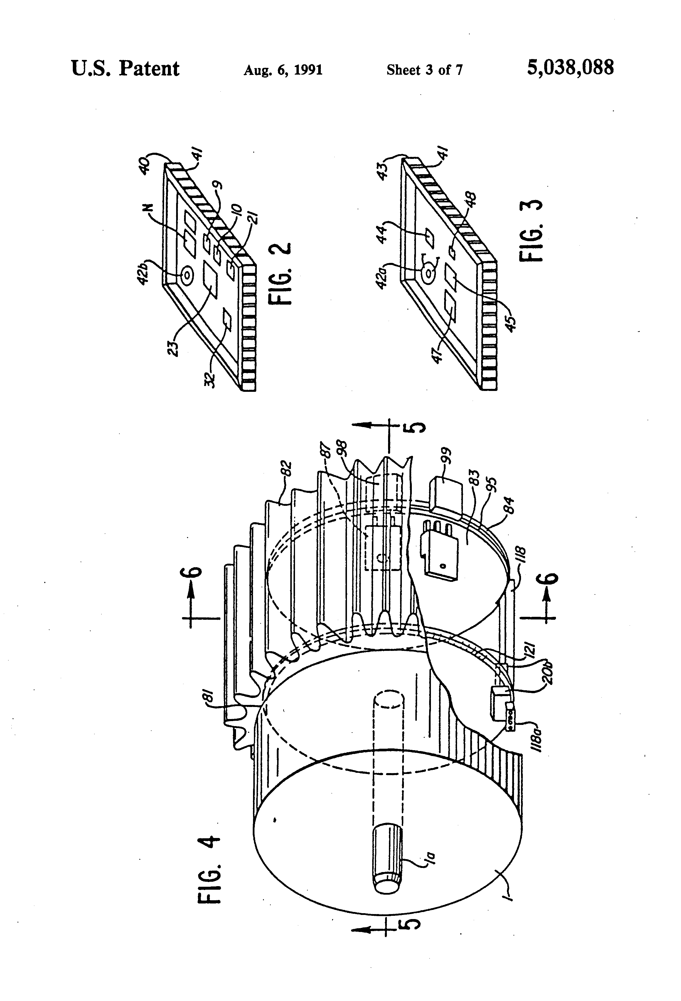 patent us5038088 - stepper motor system