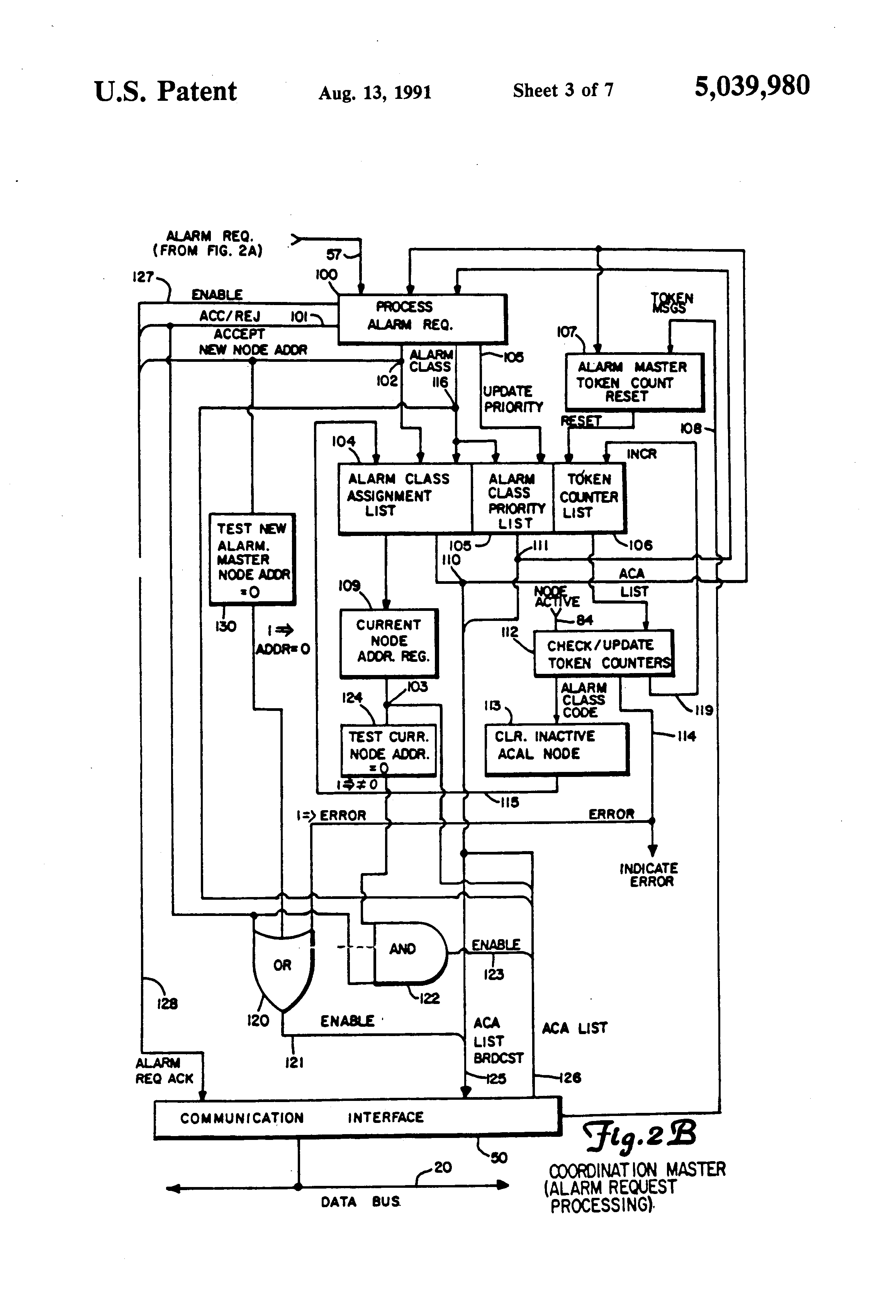 US5039980 3 patent us5039980 multi nodal communication network with true gdm 72f wiring diagram at fashall.co