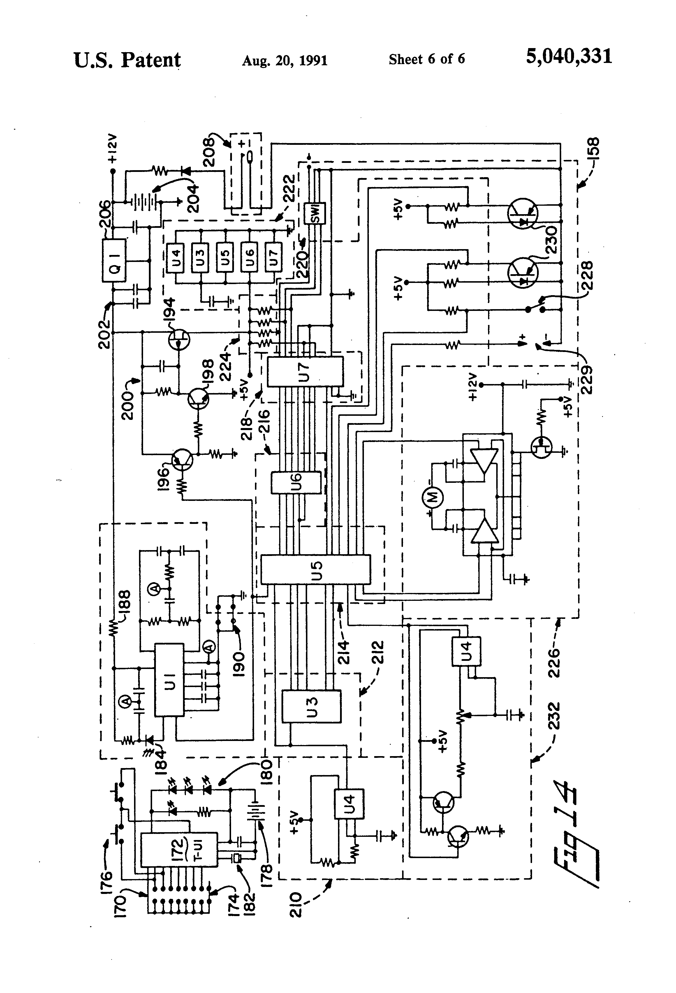 US5040331 6 besam auto door wiring diagram detailed schematics diagram