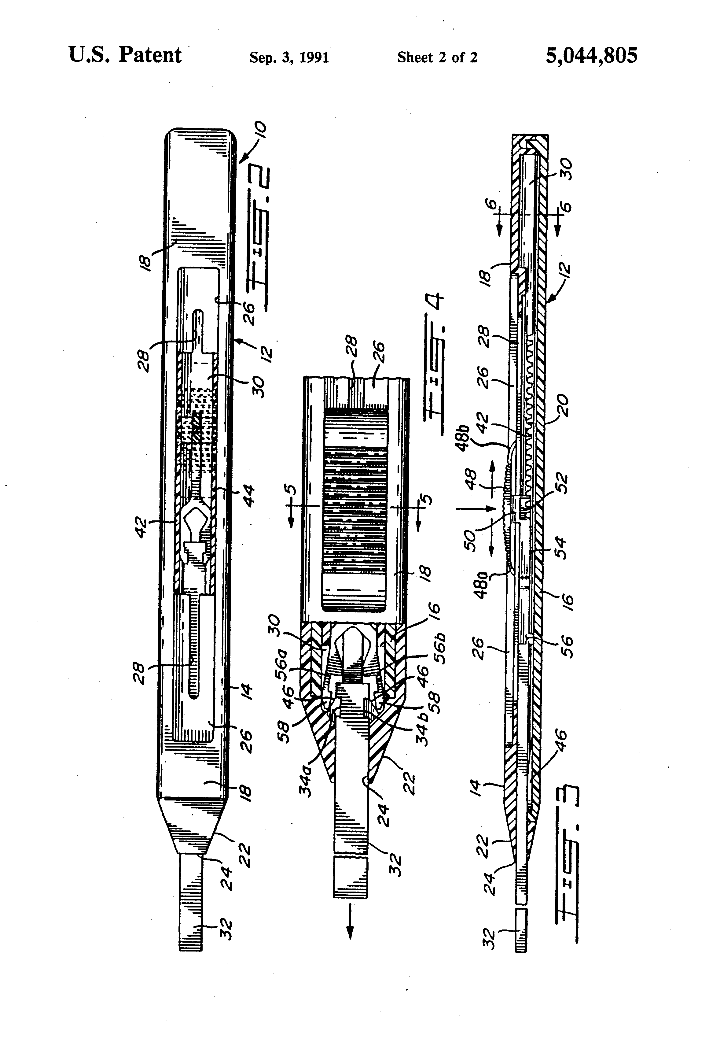 patent us5044805 - mechanical pencil