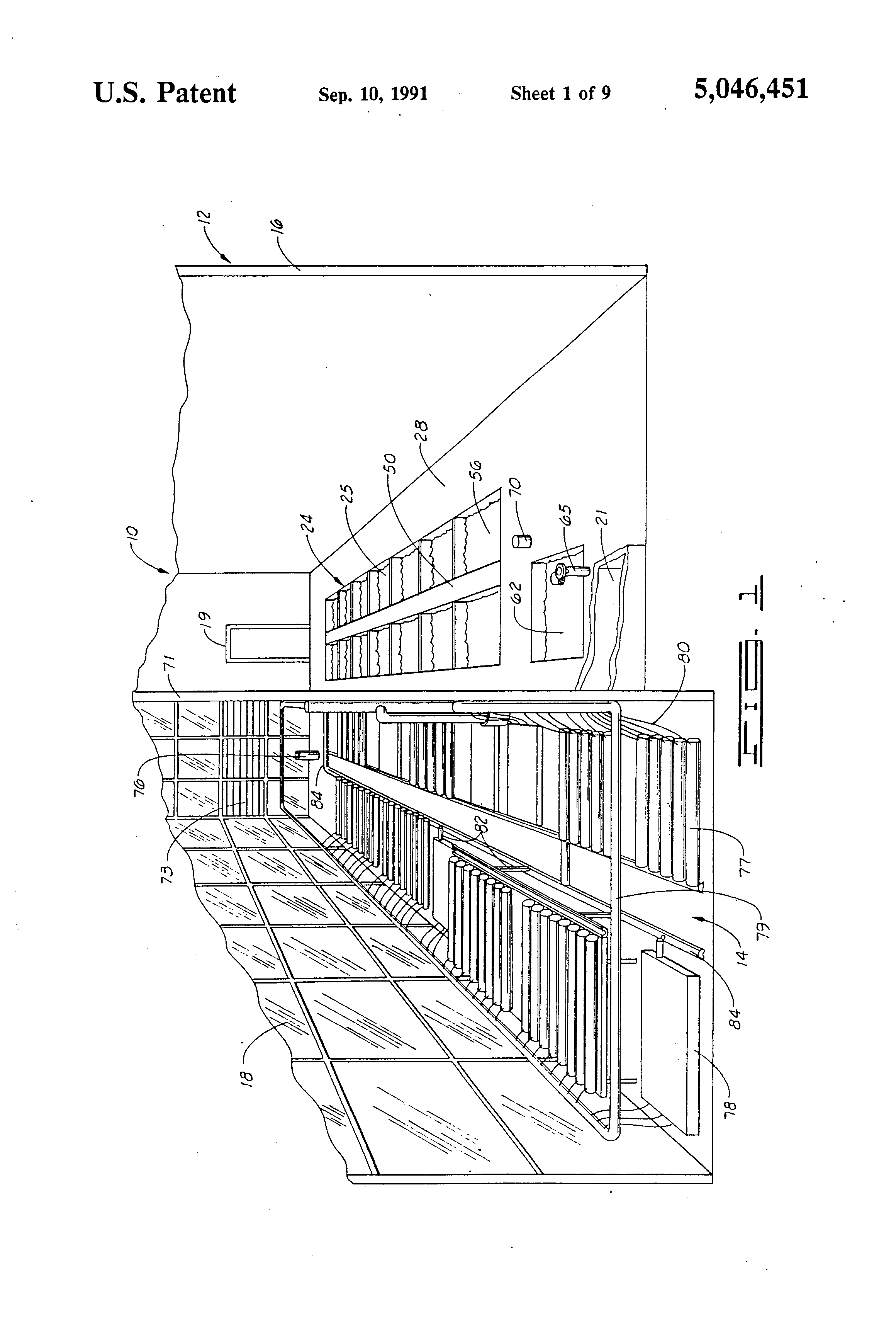 patent us5046451 fish farm and hydroponic greenhouse google