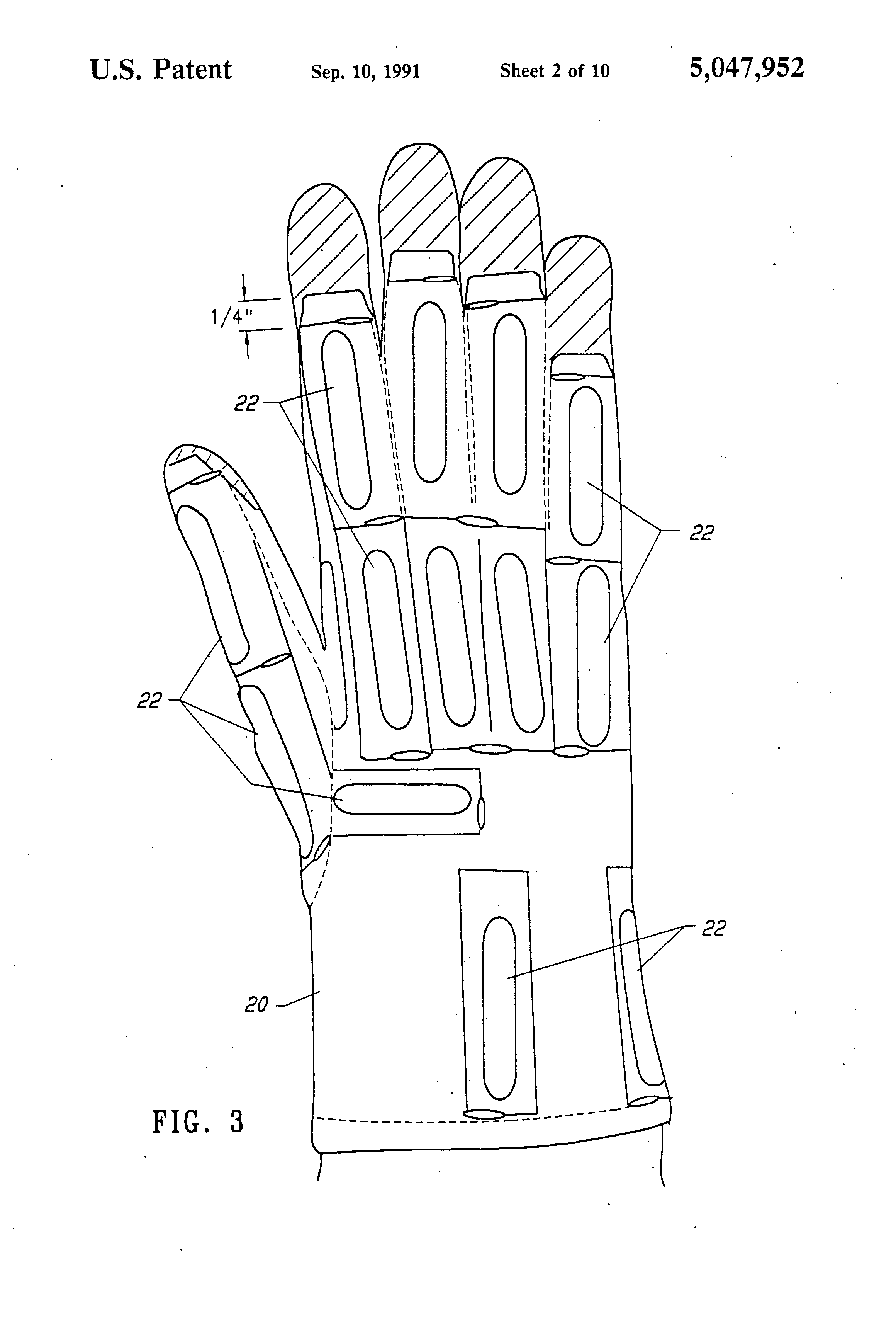 patent us5047952