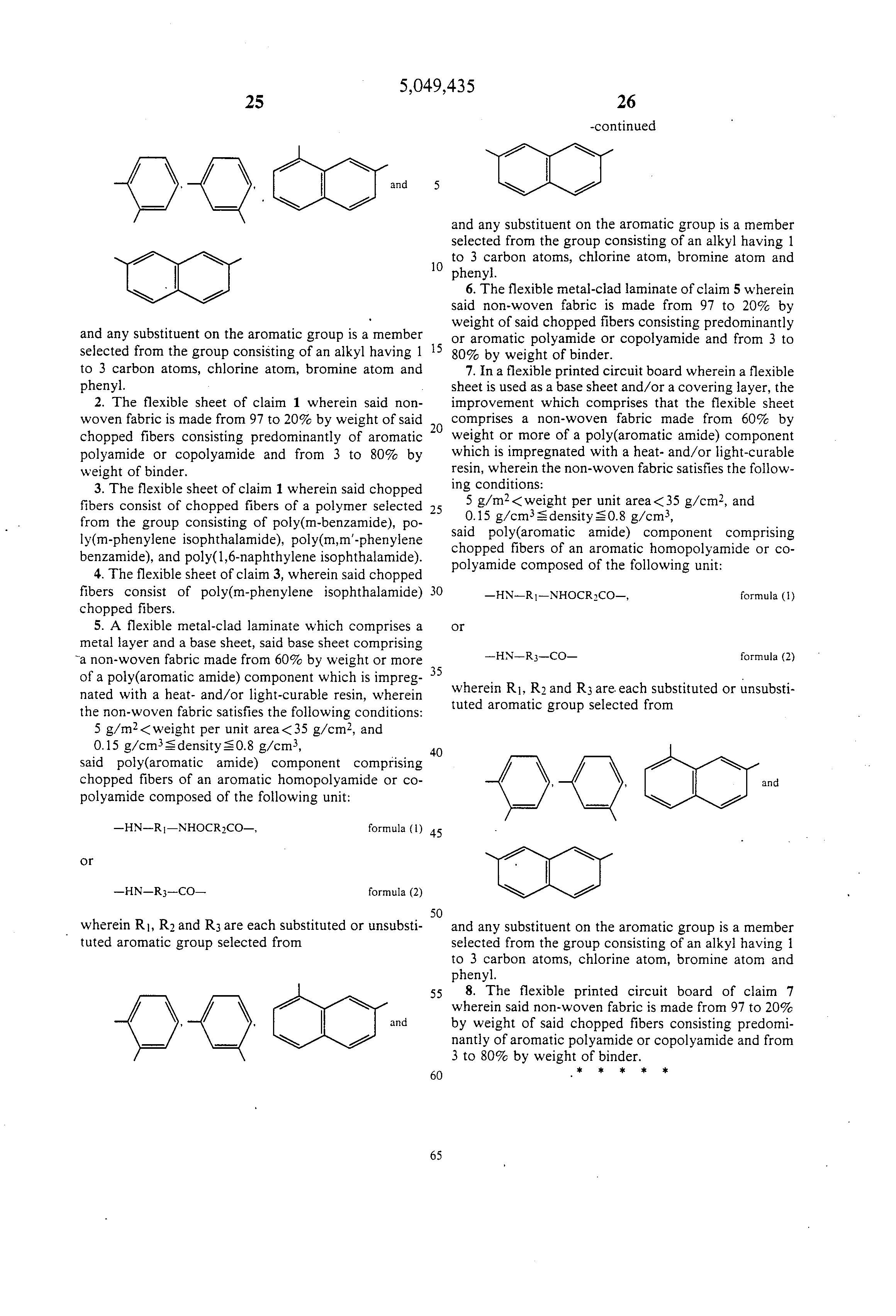 patent us5049435