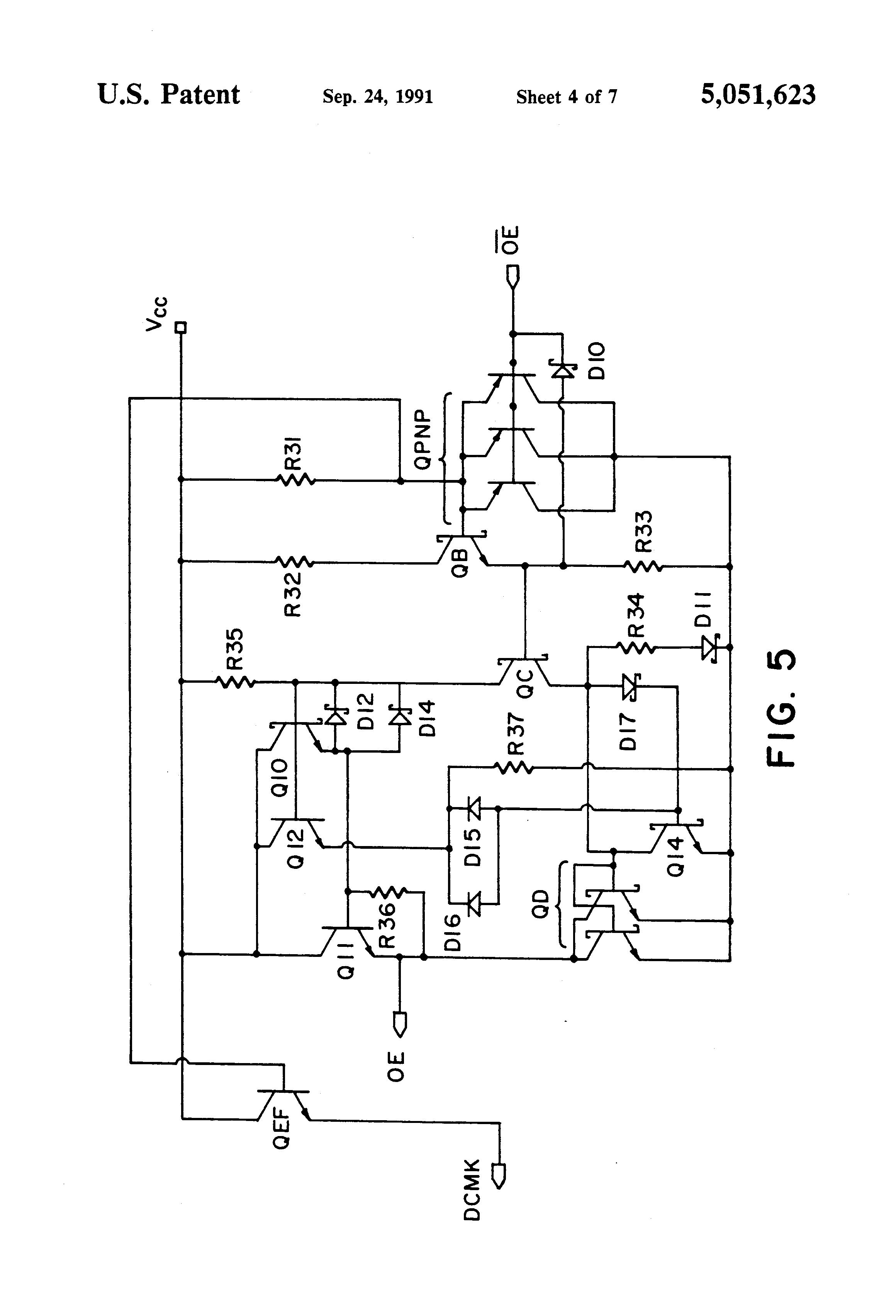 patent us5051623