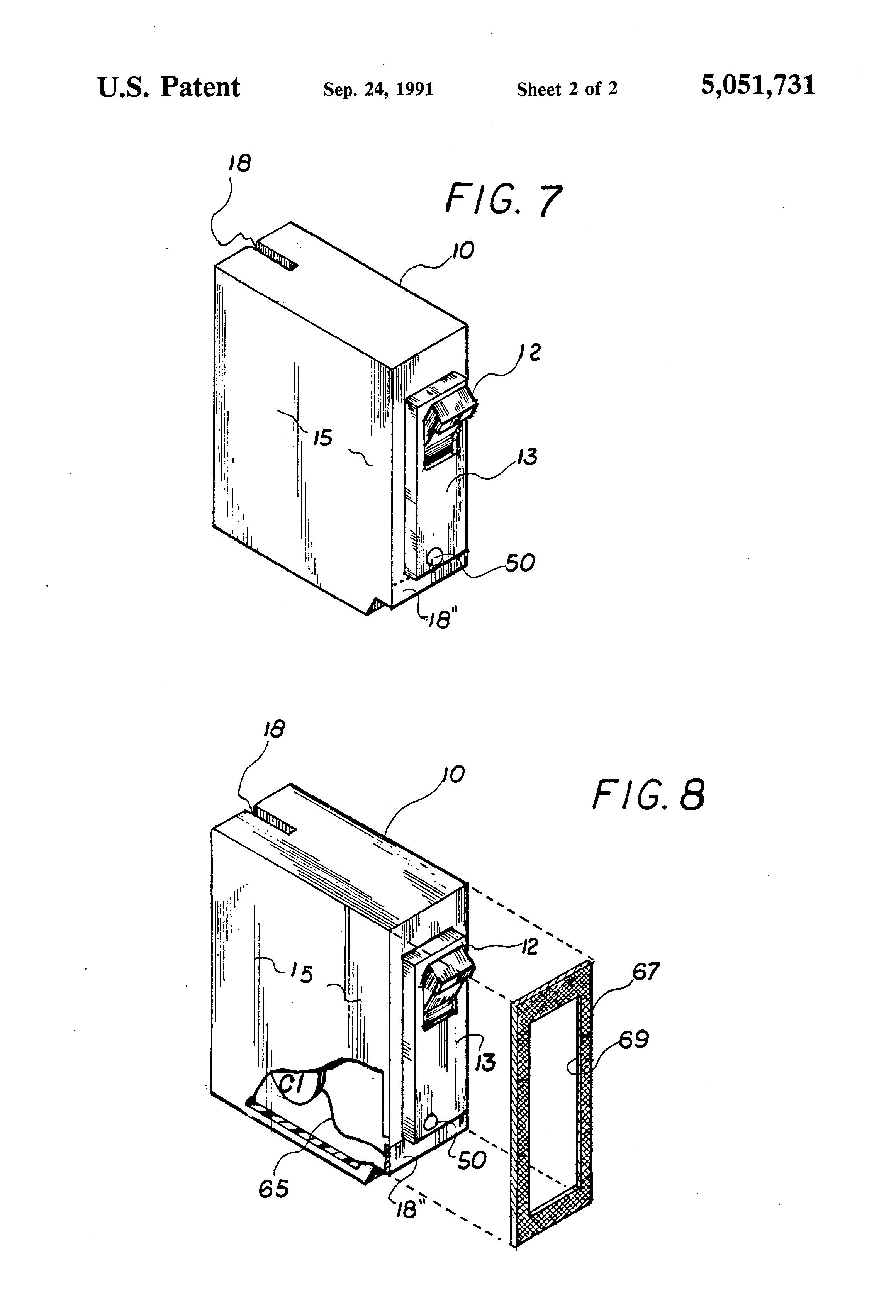 patent us5051731