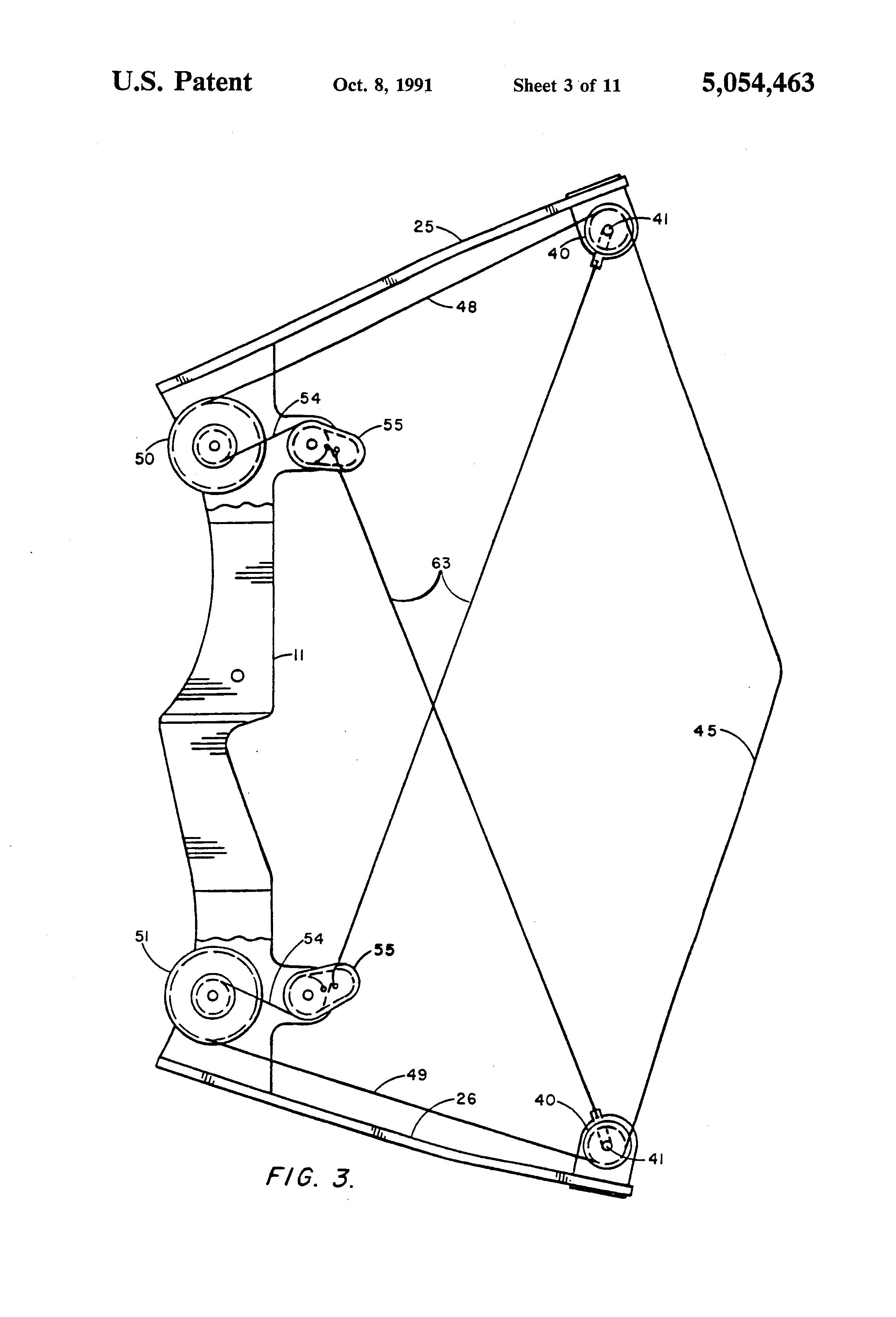Patent US5054463 - Power spring bow - Google Patents