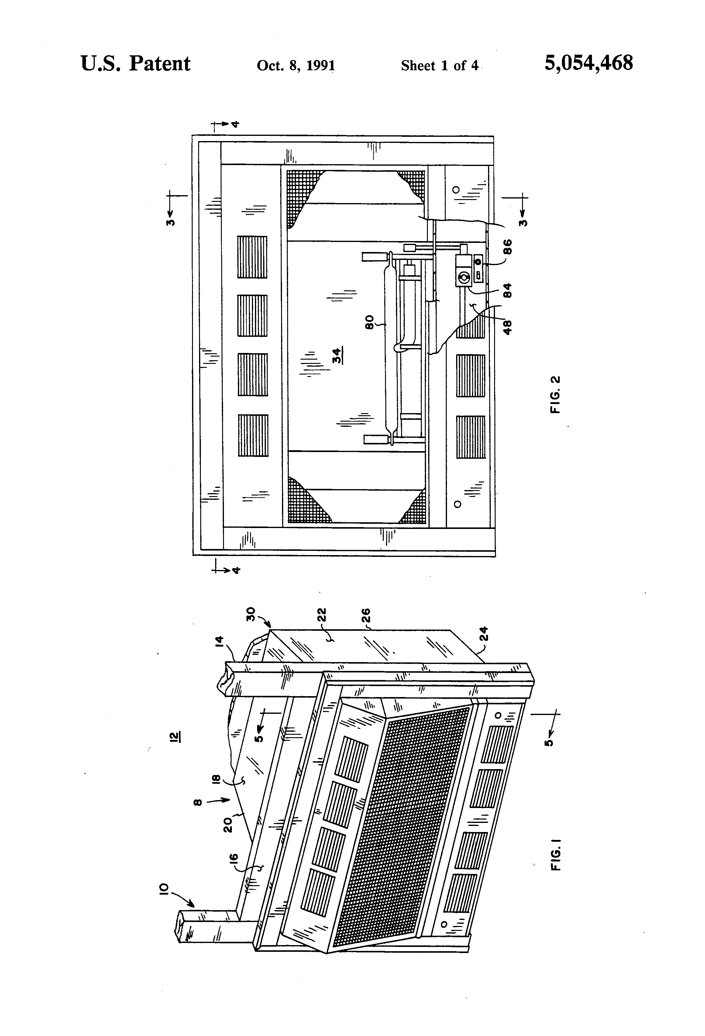 patent us5054468 unvented gas fired fireplace heater google