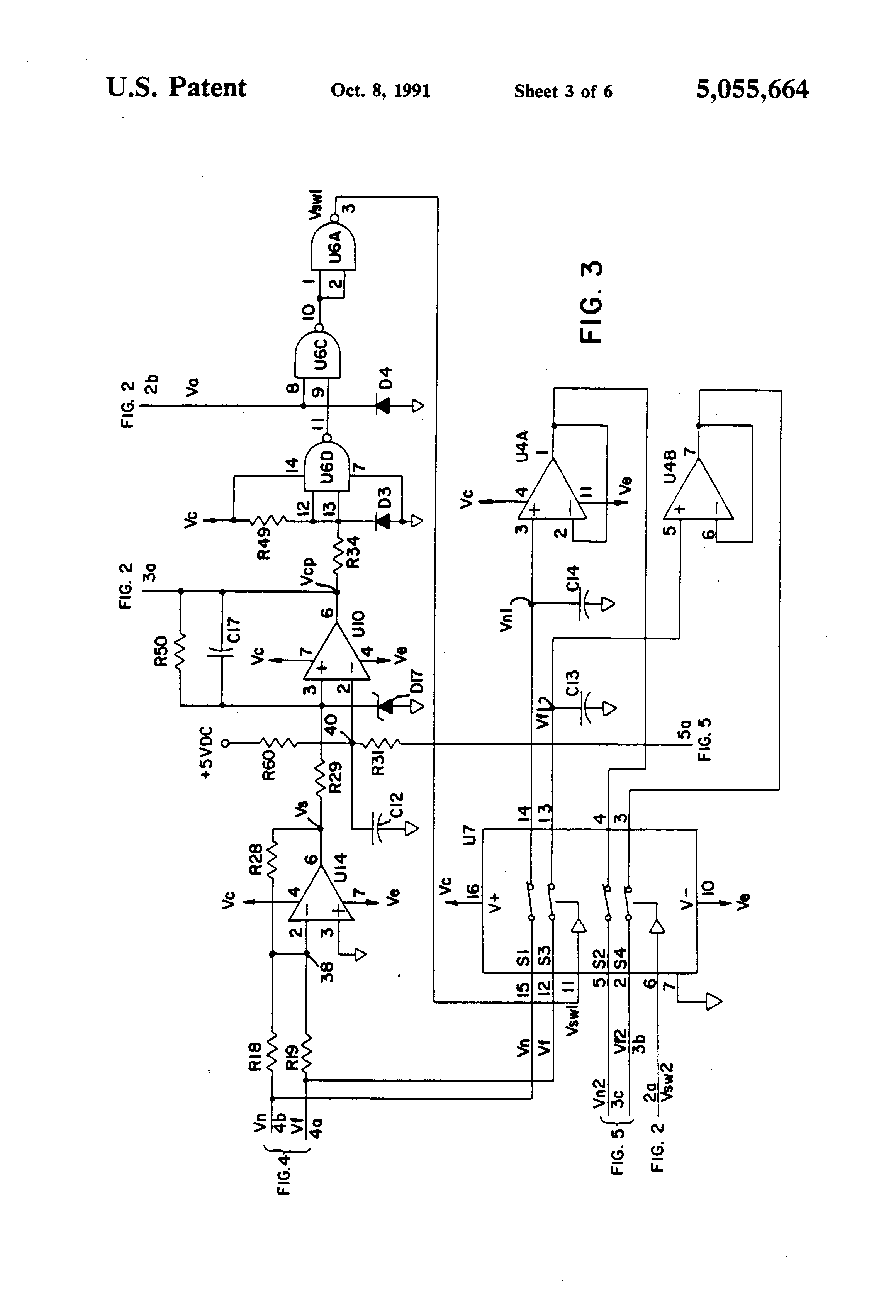 Patent Us5055664 Optical Distance Measuring System Using A Comparator Lm324 Drawing