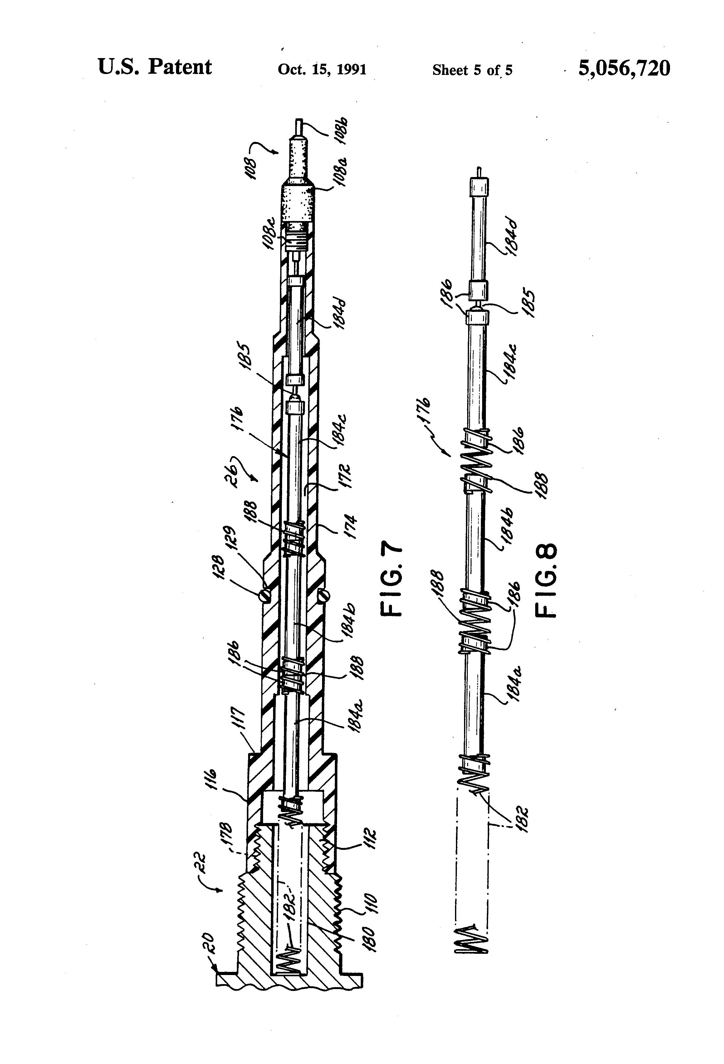 patent us5056720 - electrostatic spray gun