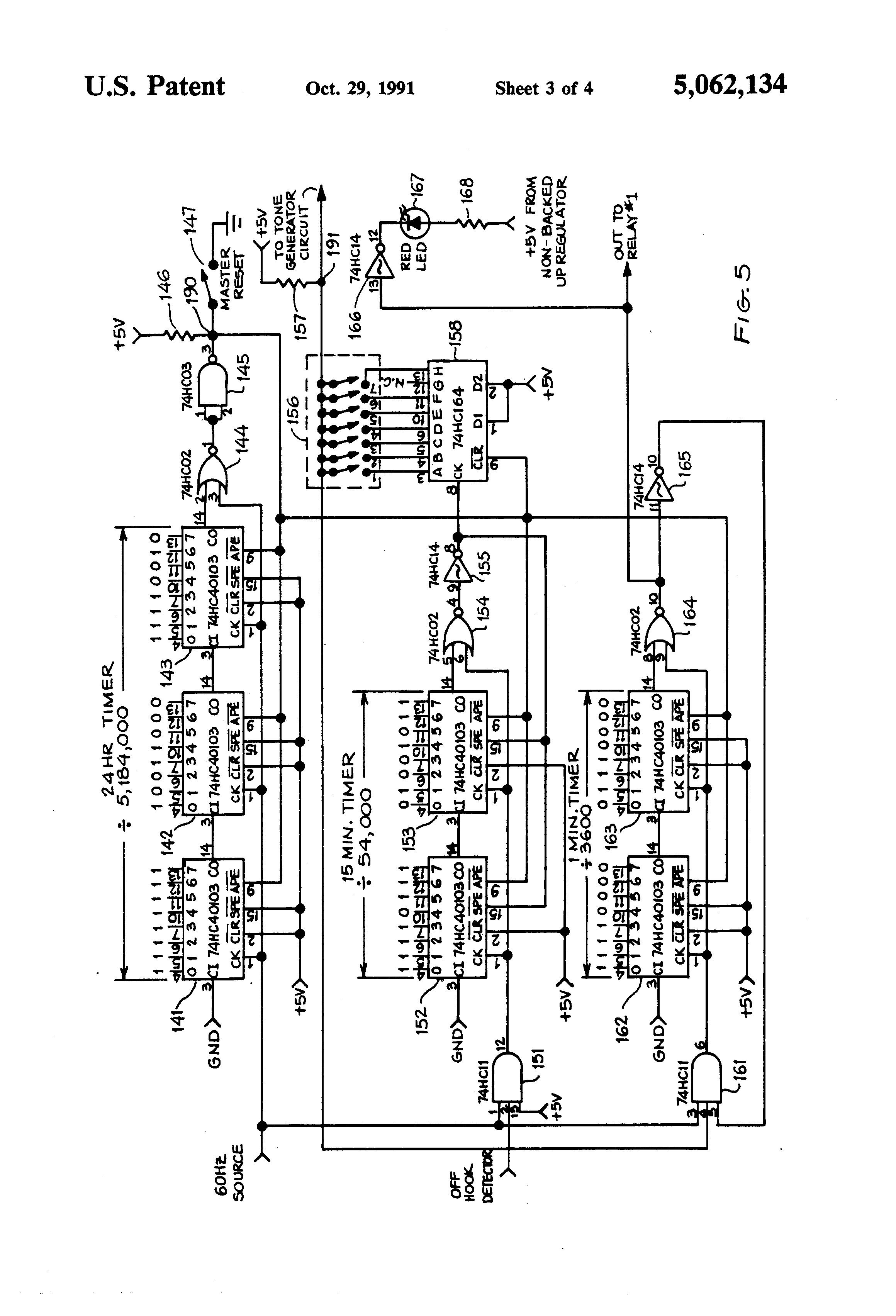 patent us5062134
