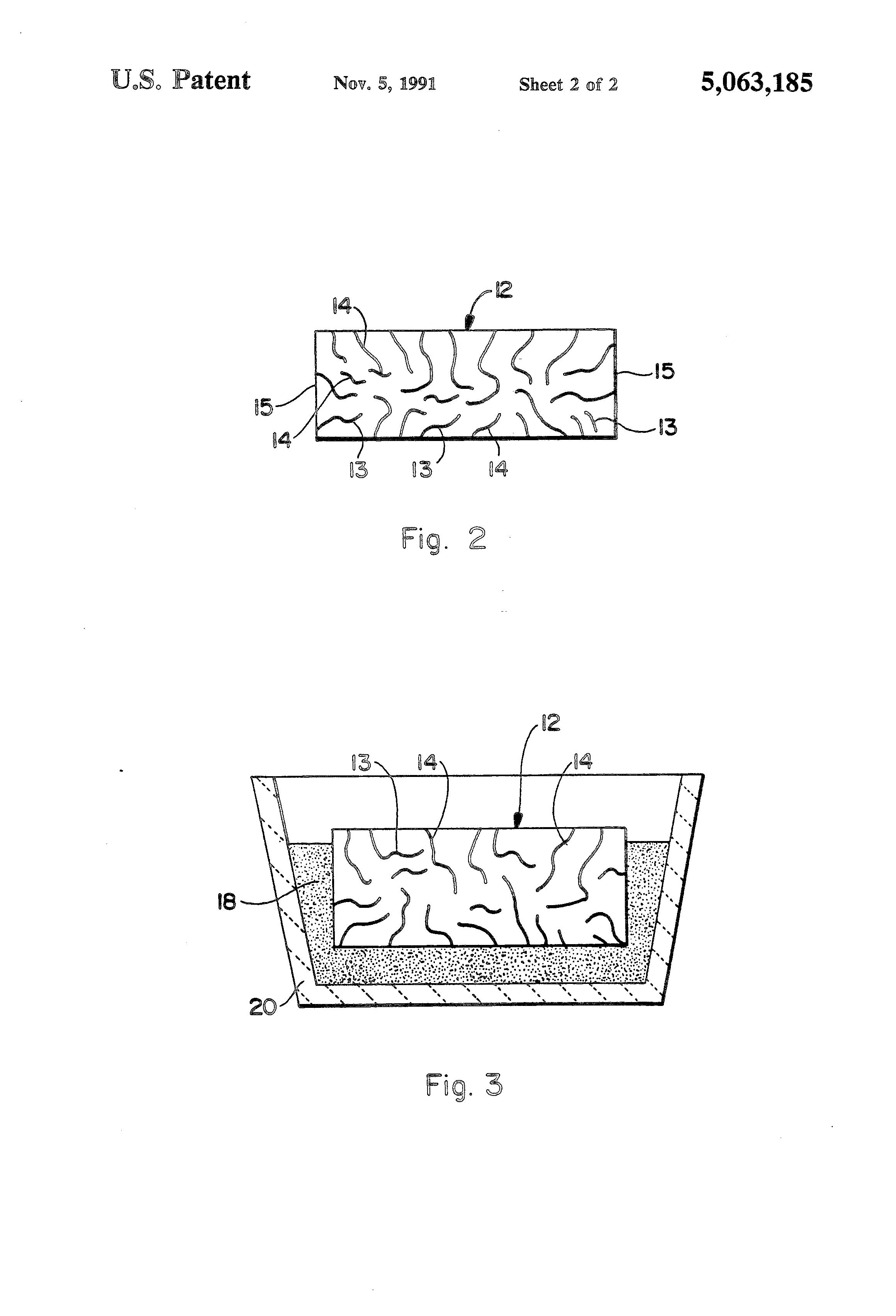 Patent Us5063185 Modified Ceramic Structures And Methods