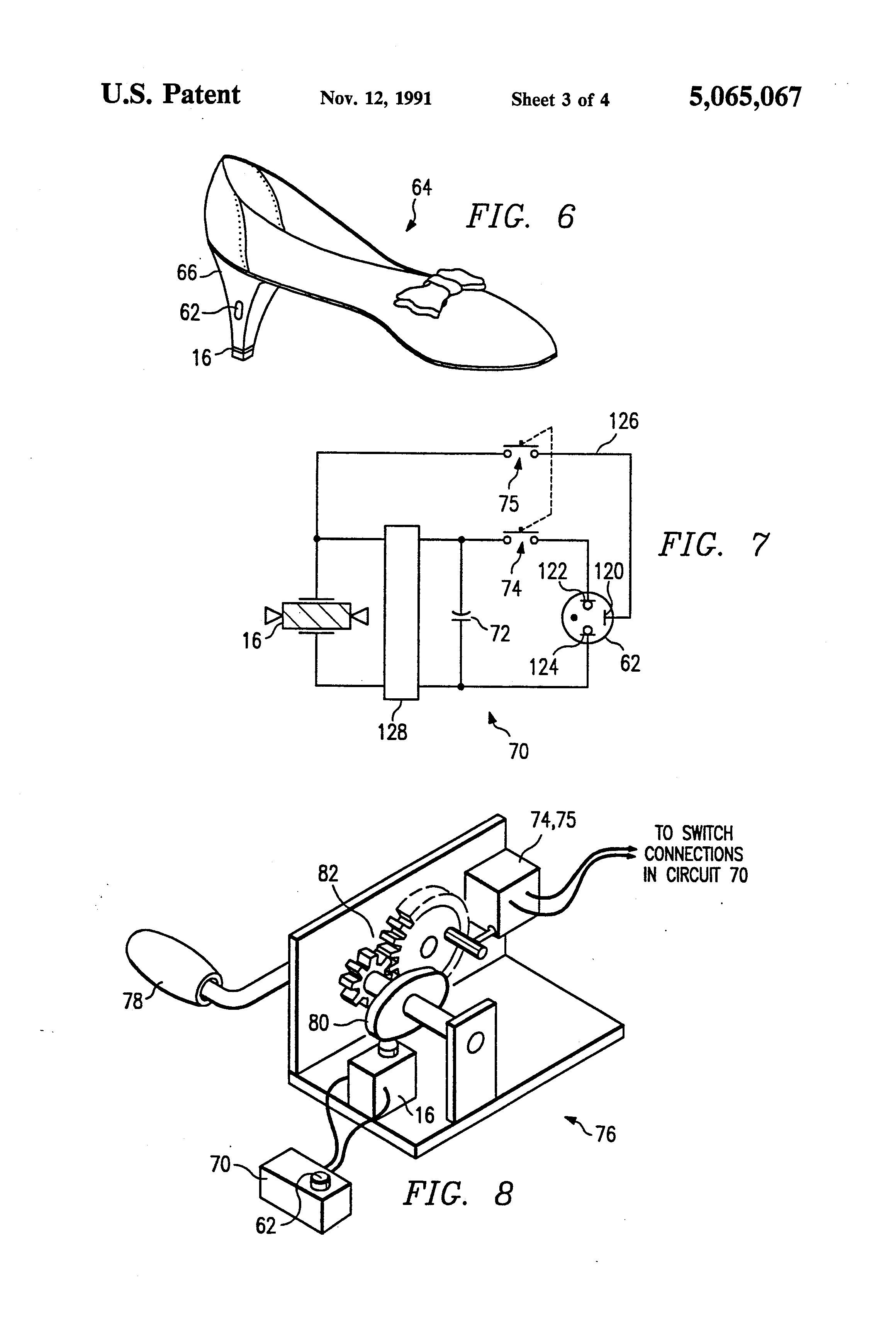 patent us5065067 - piezoelectric circuit
