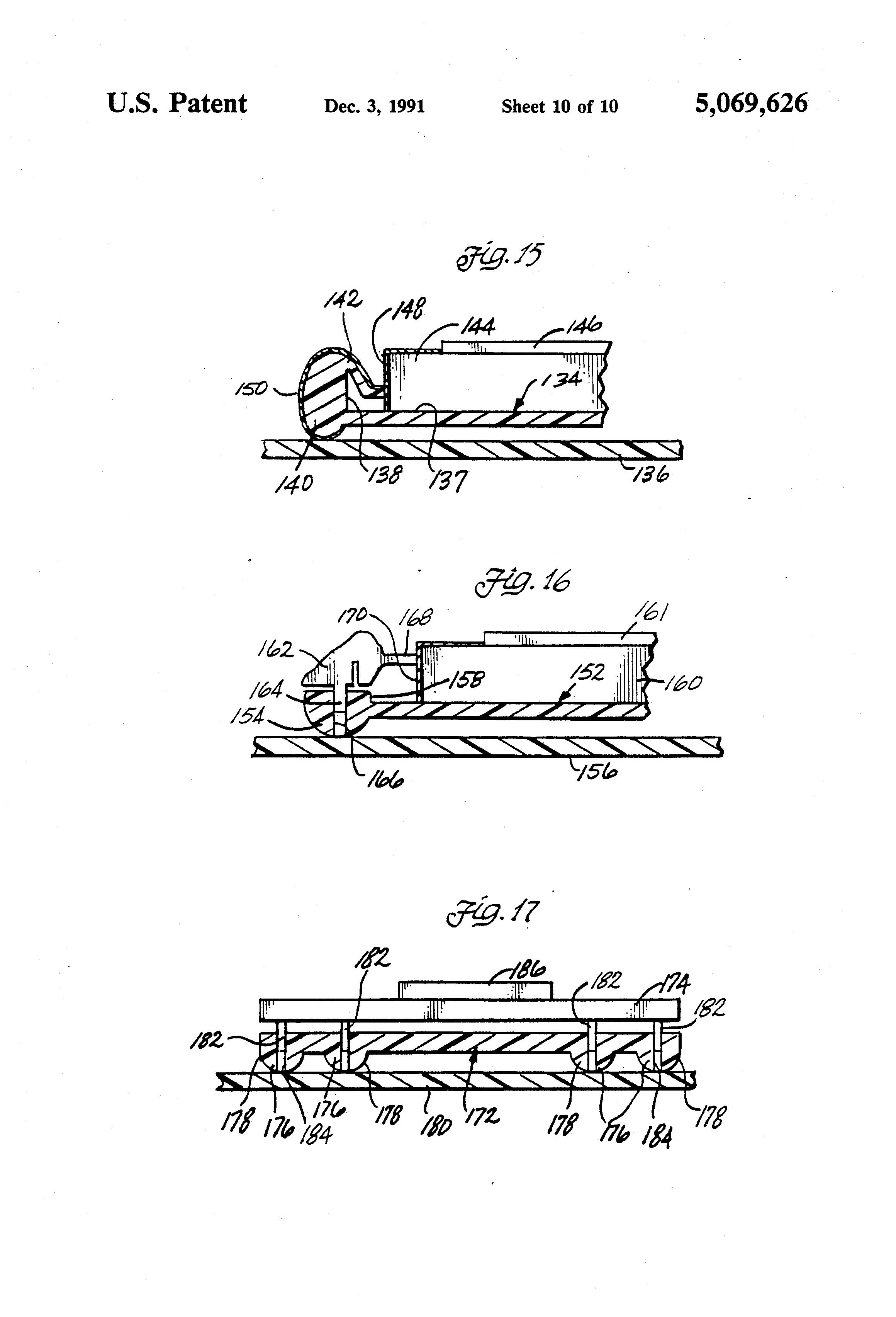 patent us5069626