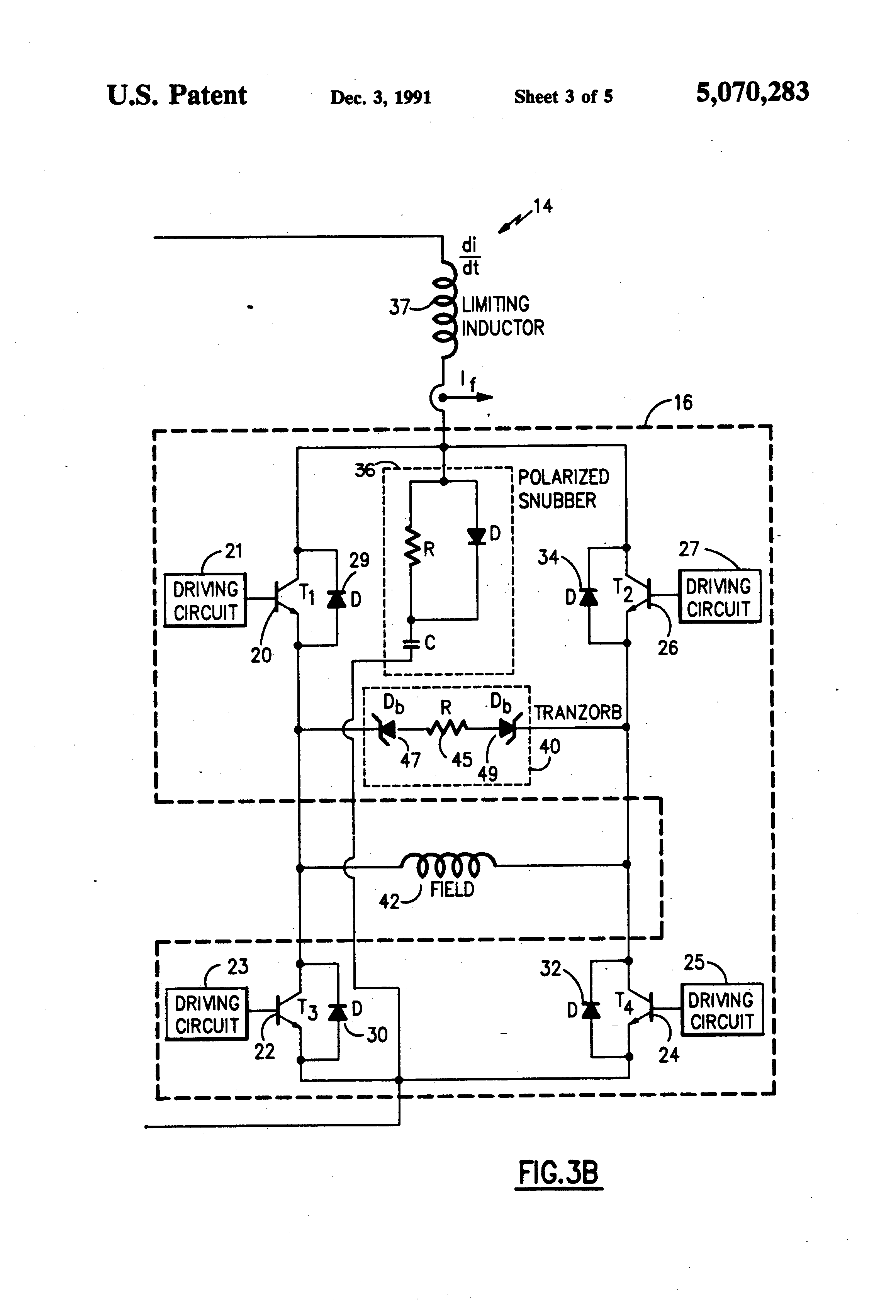 Patent US5070283 Traction motor controller for forklift vehicles – Linde Forklift Wiring Diagrams