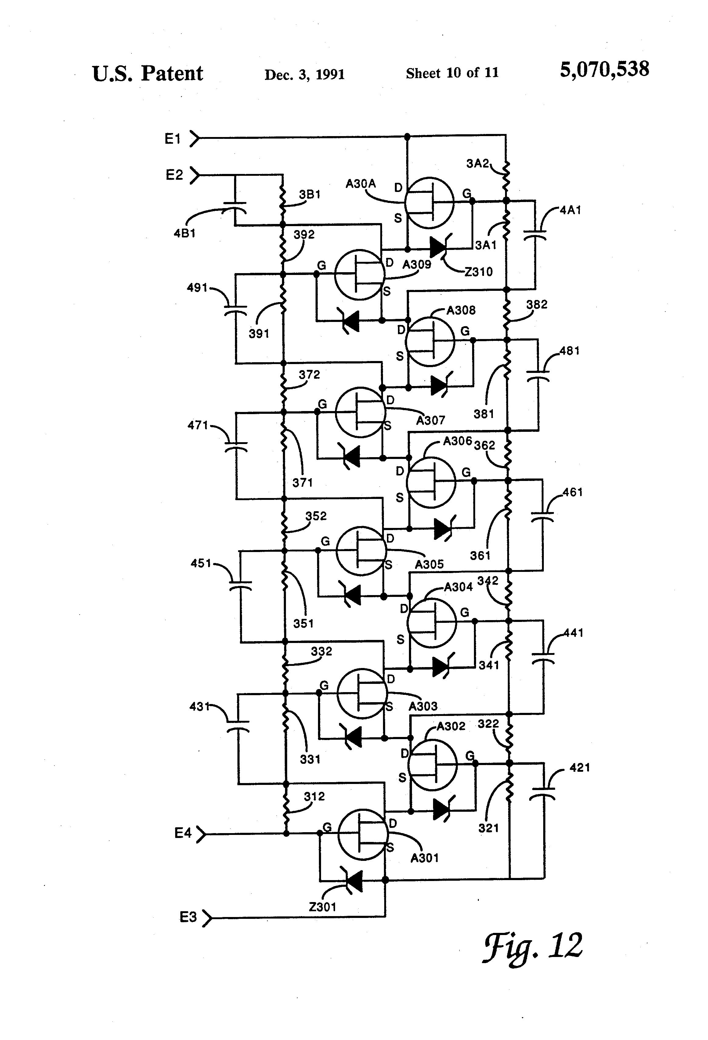 patent us5070538