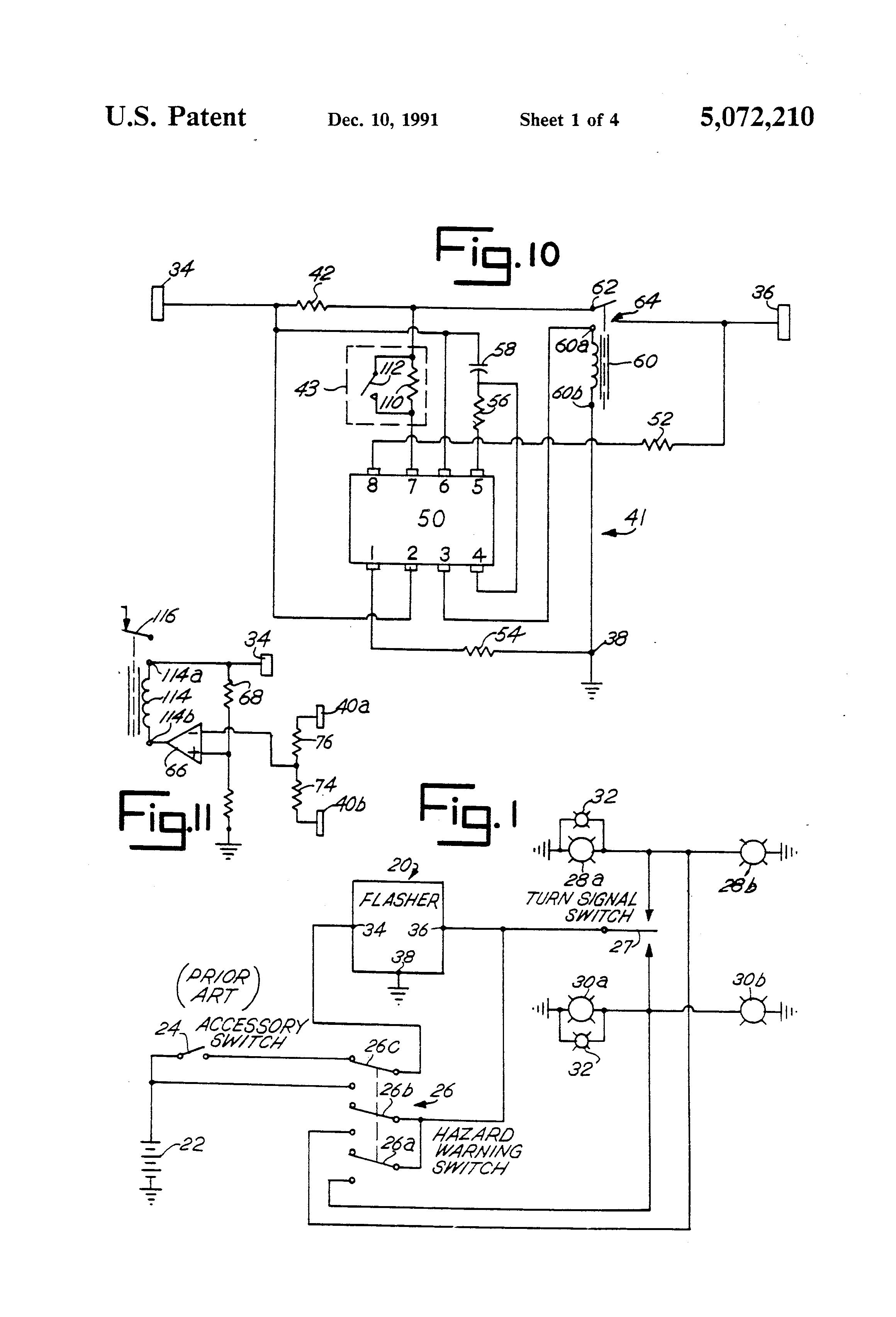 Nippondenso 3 Wire Flasher Wiring Diagram - Wiring Data
