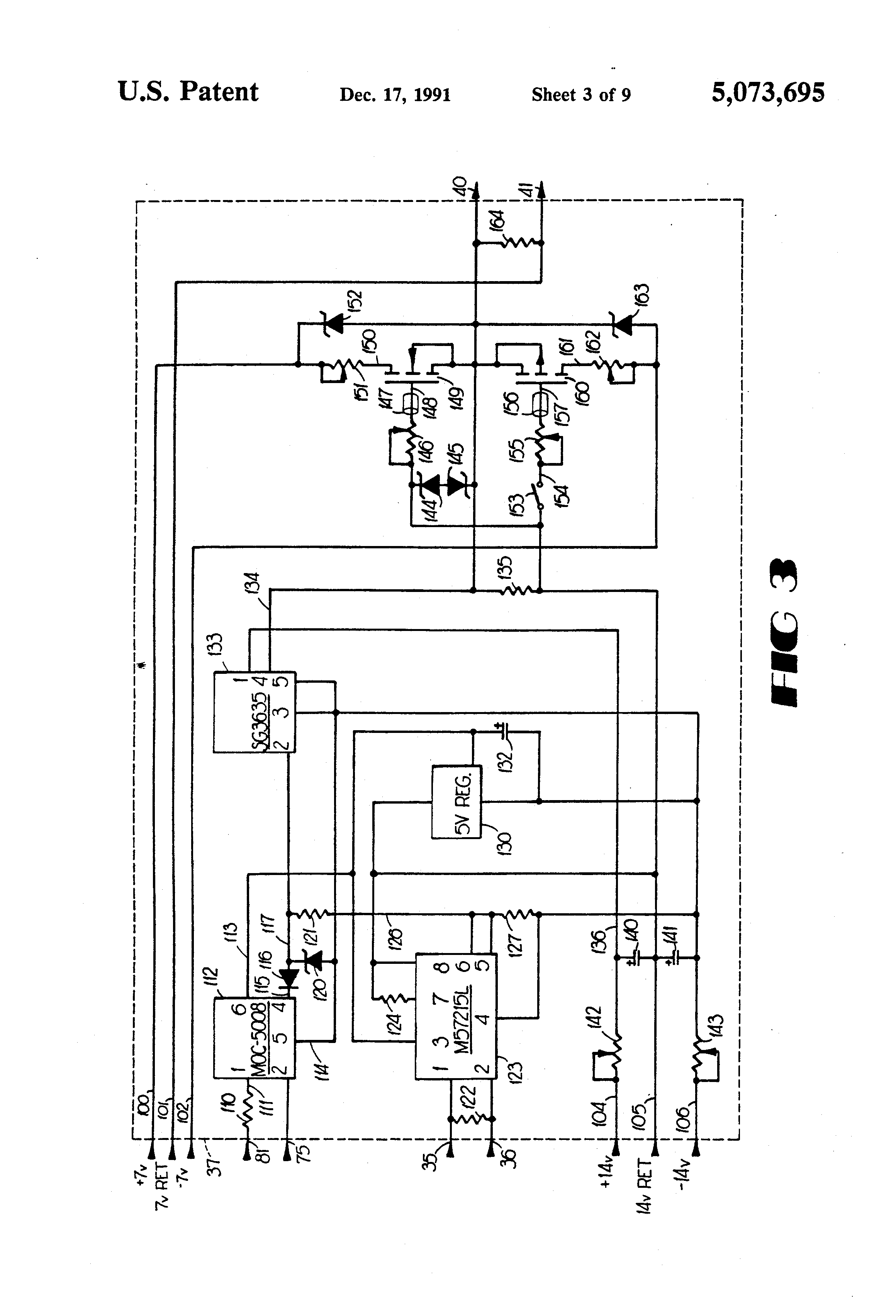 patent us5073695 welding power supply with circuit protection patents