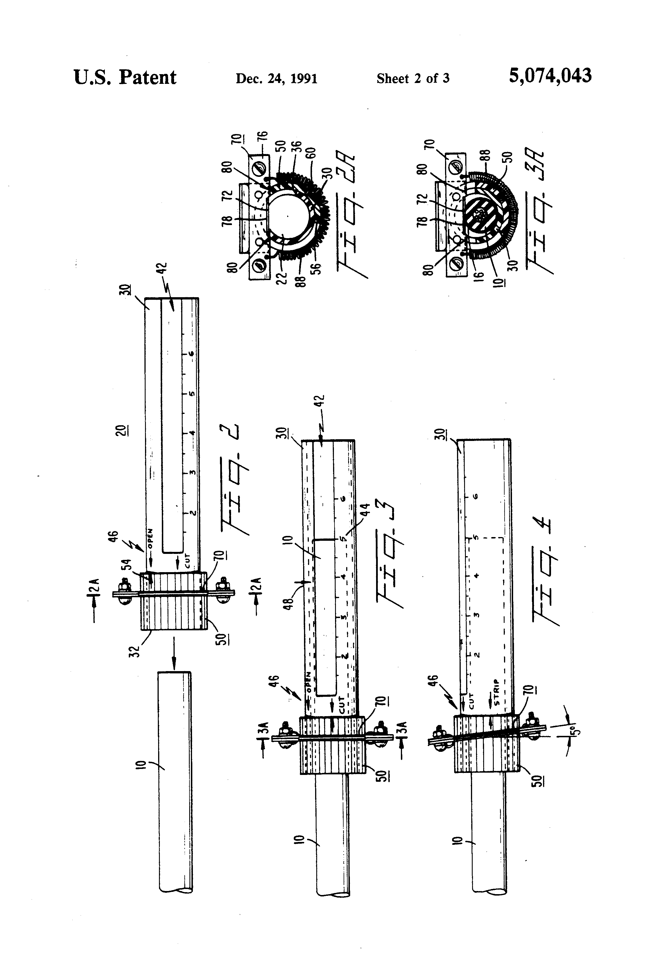 patent us5074043 - safety-cable jacket remover