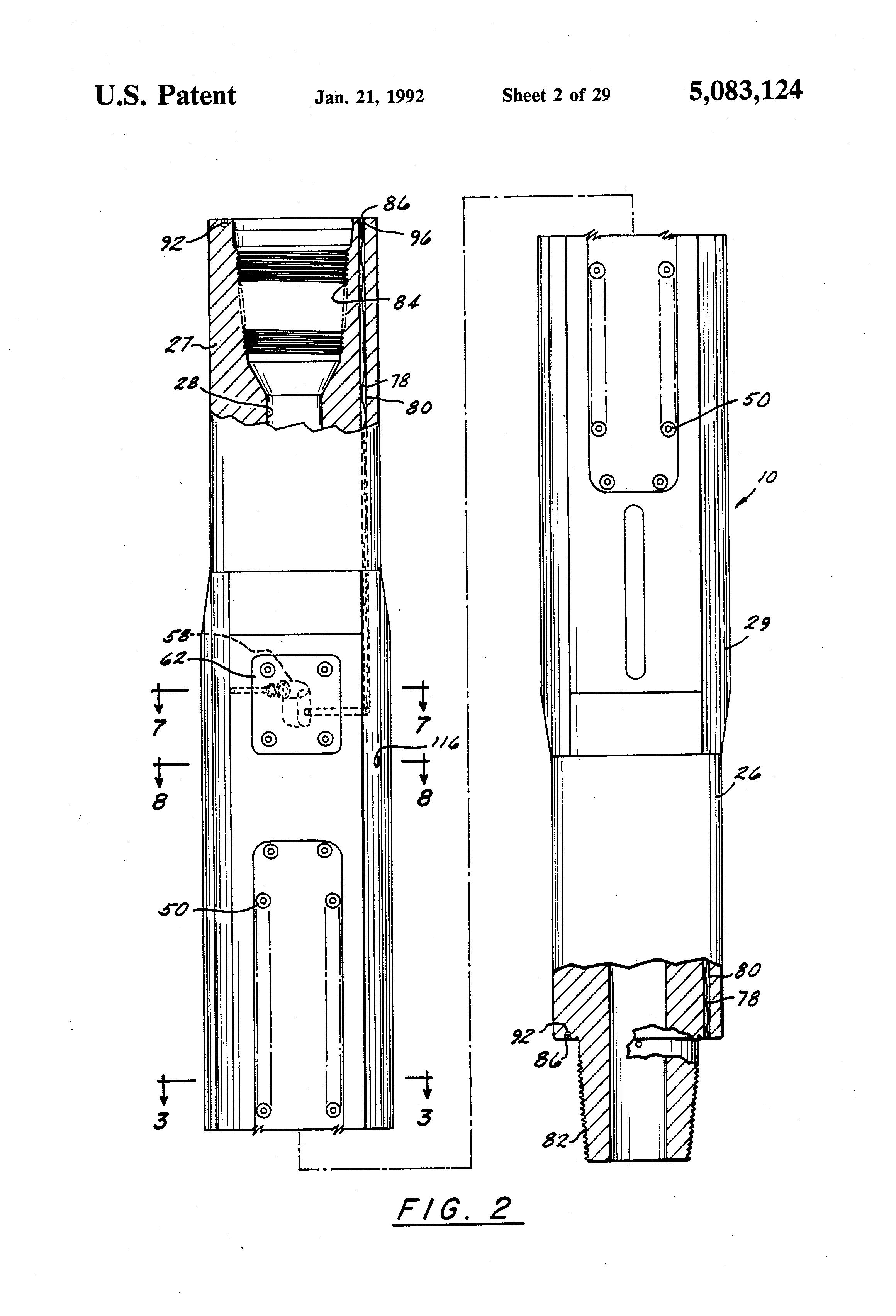 patent us5083124