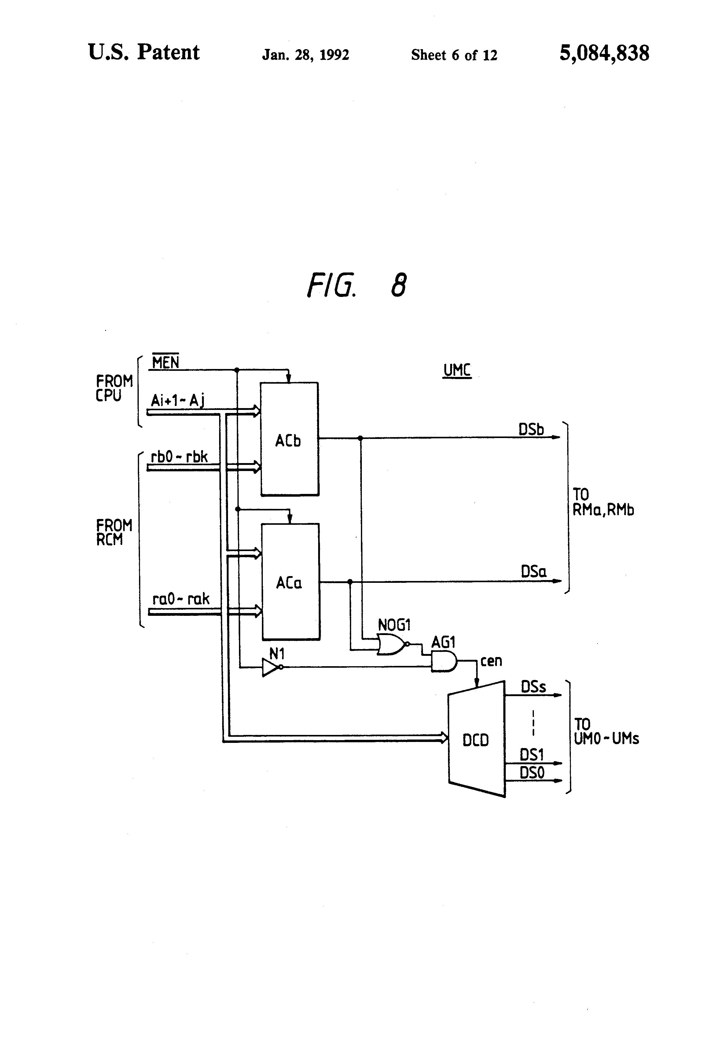 patent us5084838